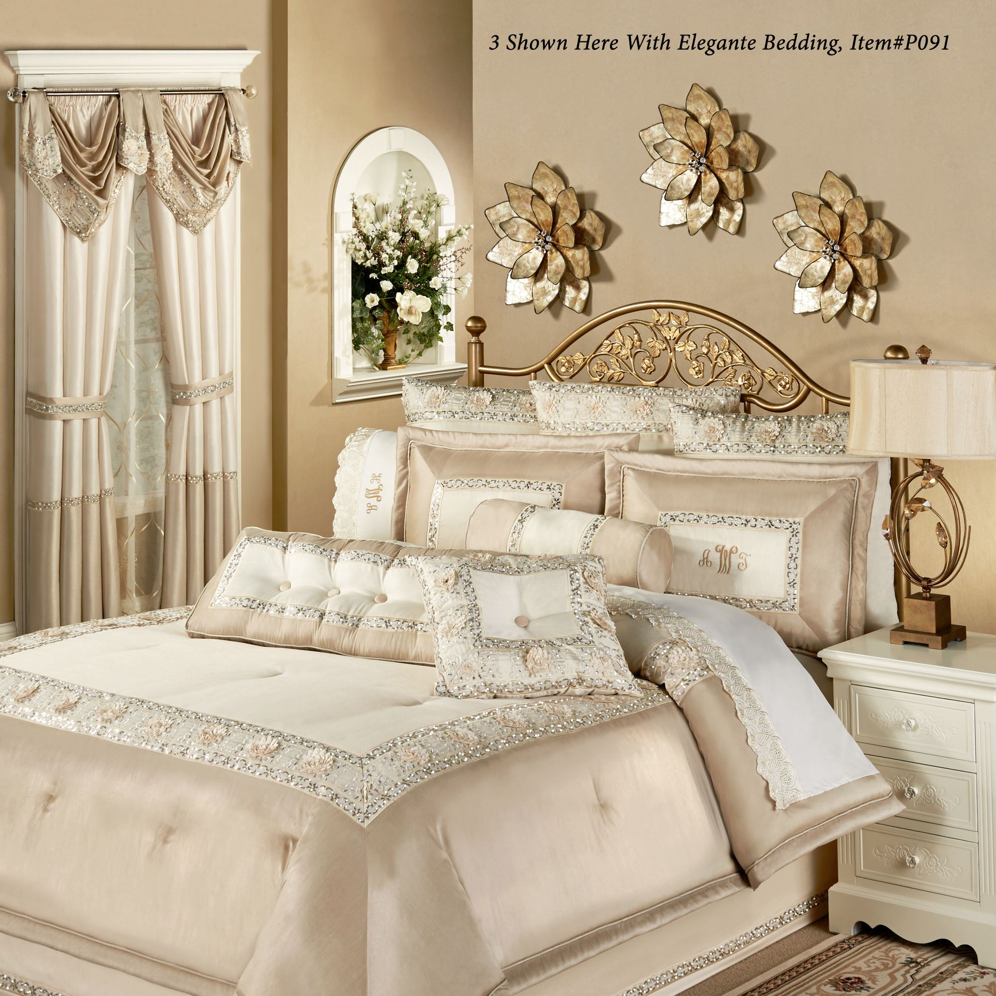 Eloquence Bloom Capiz Wall Art Cream