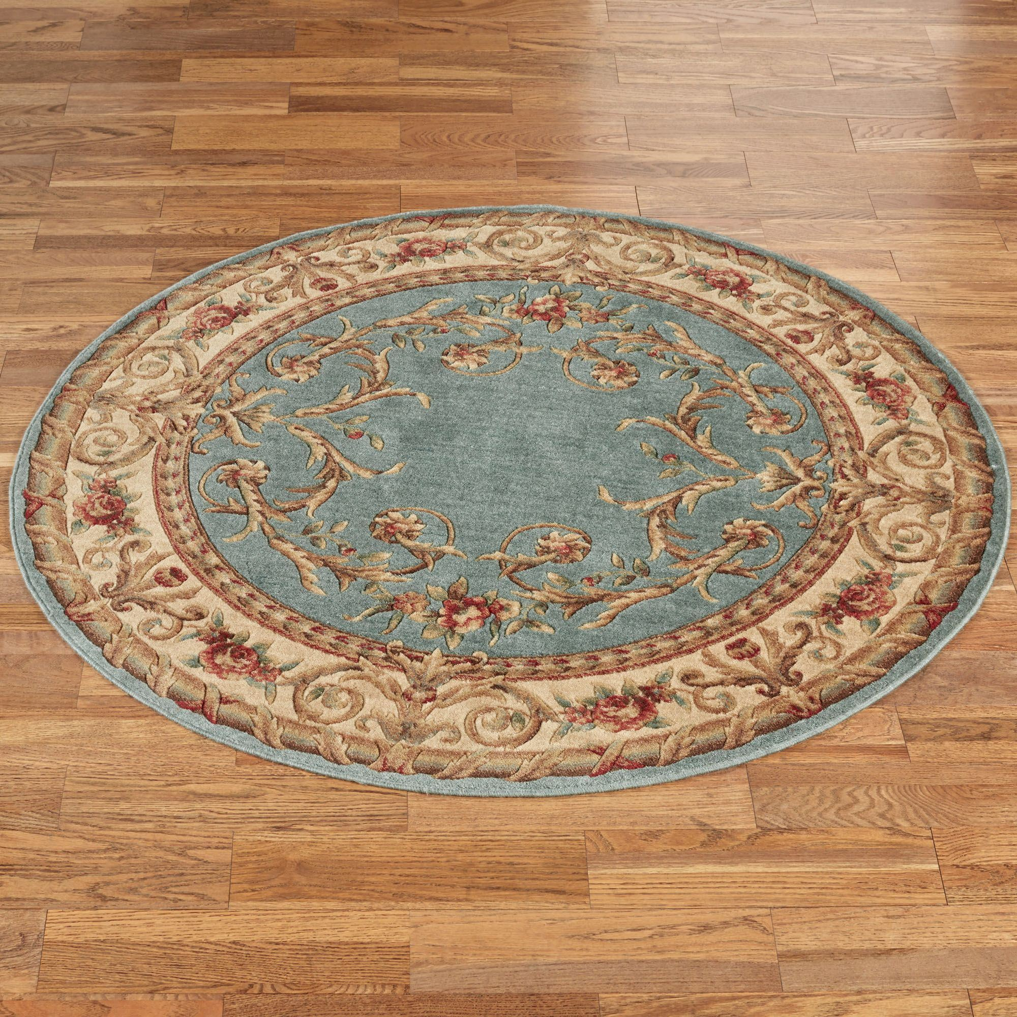 Kamari II Traditional Round Rugs