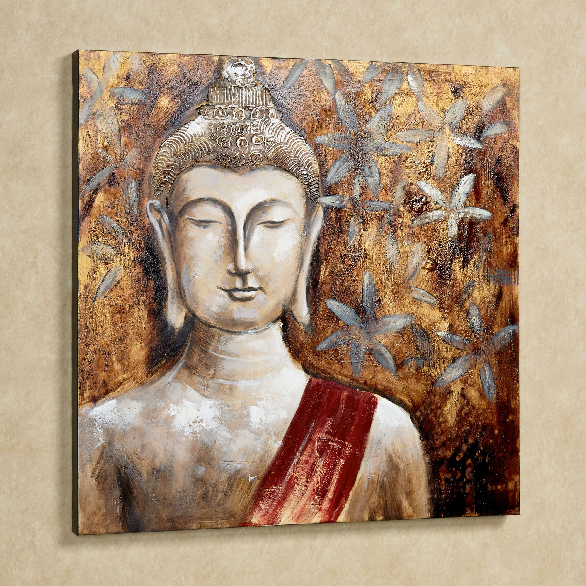 Enlightenment Buddha Handpainted Canvas Art