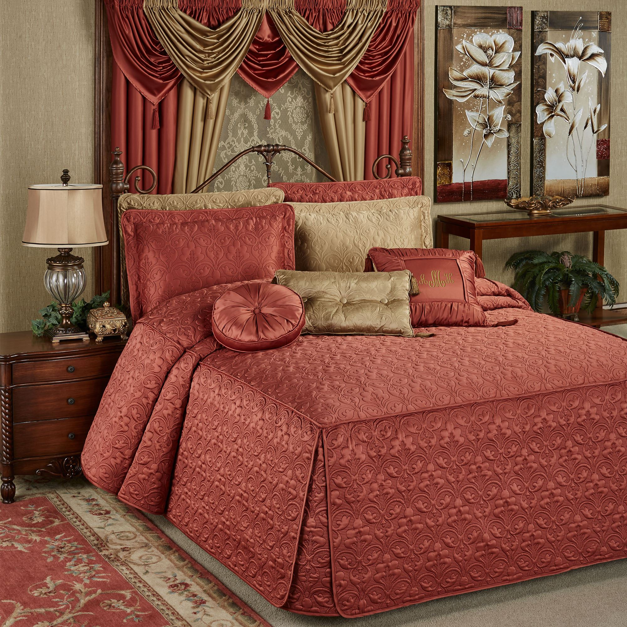 Cambridge Classics Cinnabar Fitted Quilted Oversized