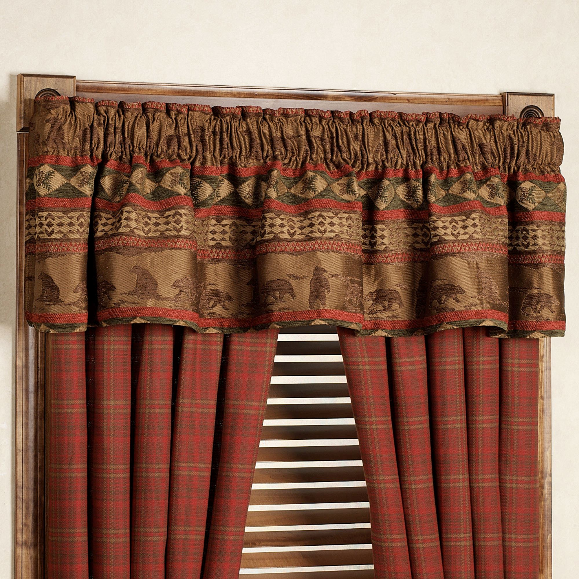 Ideal Cascade Lodge Window Treatments LA93