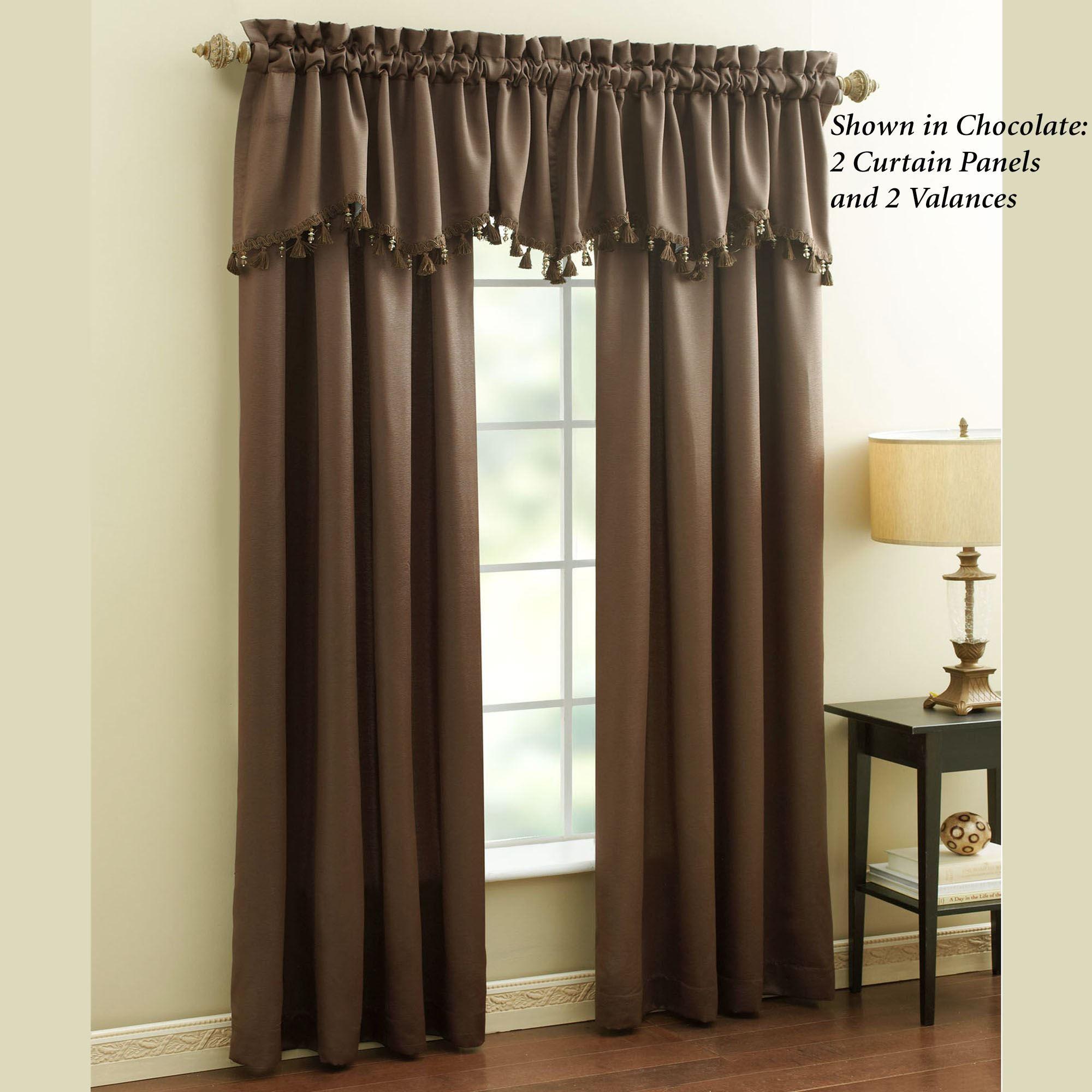 Ashland Tailored Curtain Panel 50 X 84