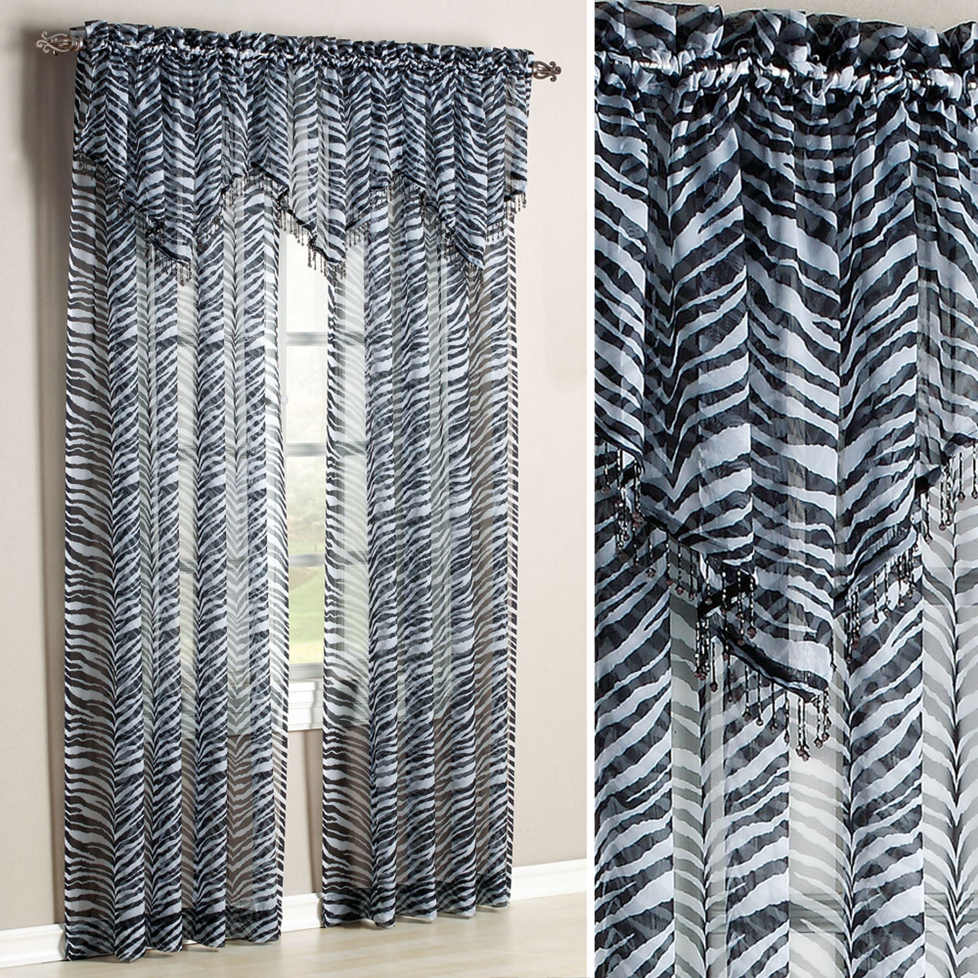 zebra curtain sheer over for extra blinds shower curtains linen fabric vertical grey long