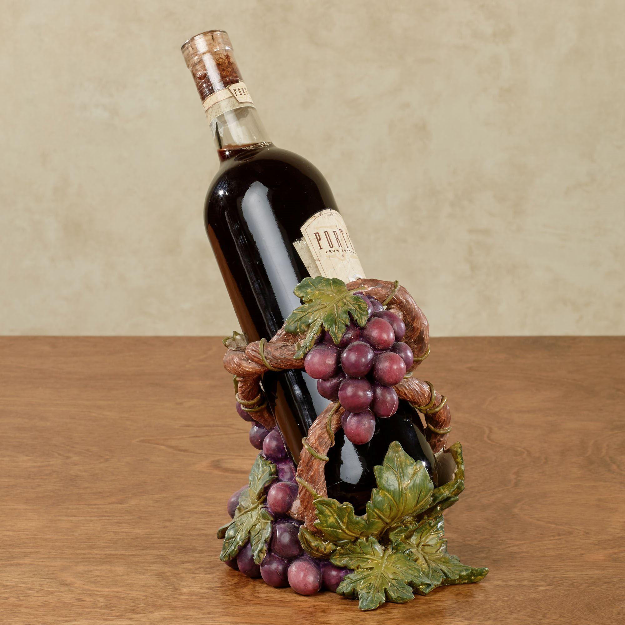 Grape Harvest Wine Bottle Holder