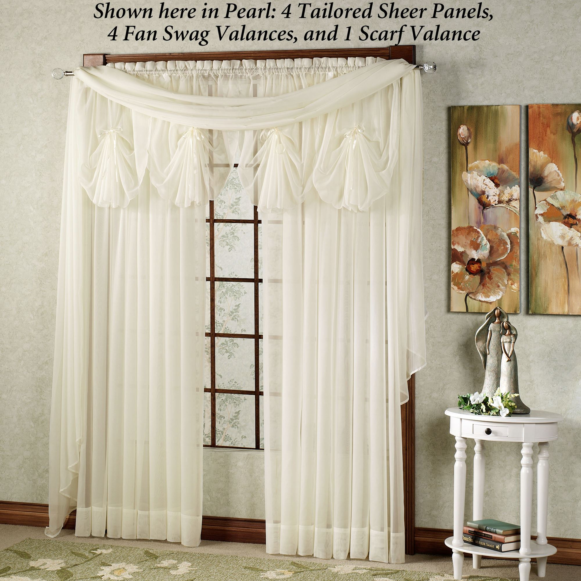 larger scarves about valances and best scarf on l curtains floral curtain view valance images summerfield
