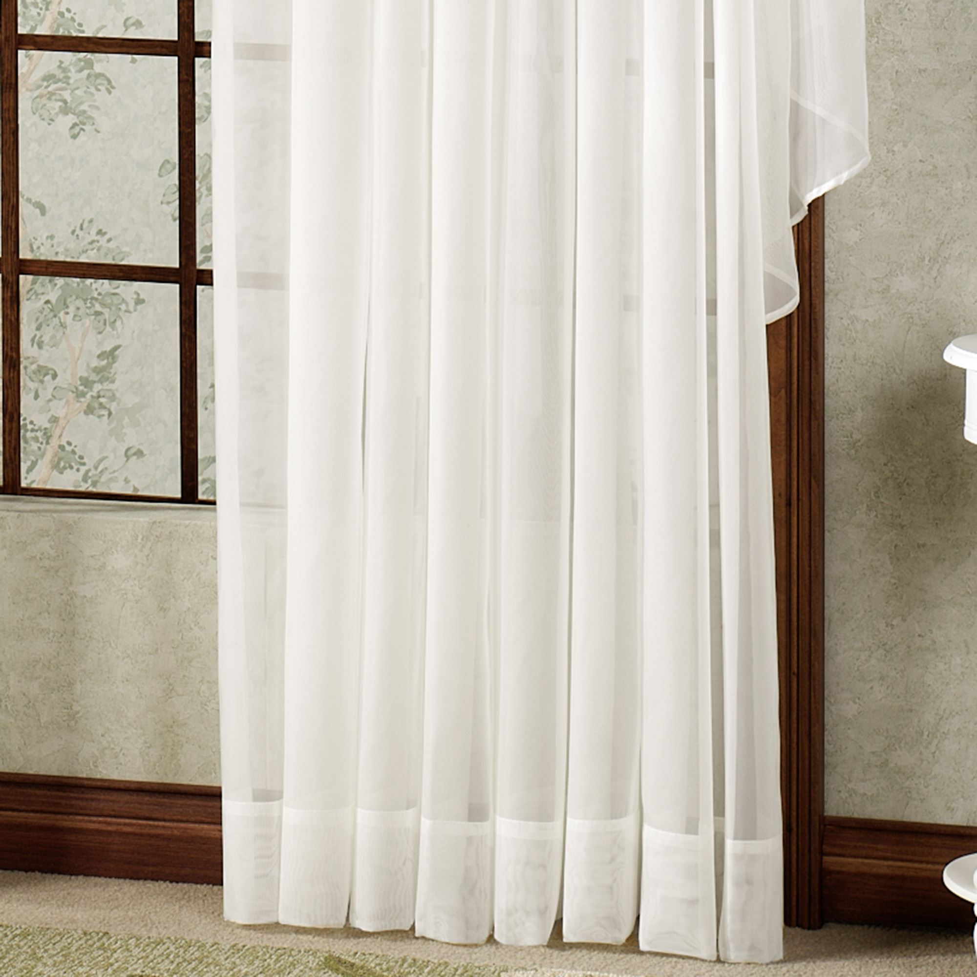 set of curtains white drapes fabric ideas wool voile doors sheer bathroom curtain marker