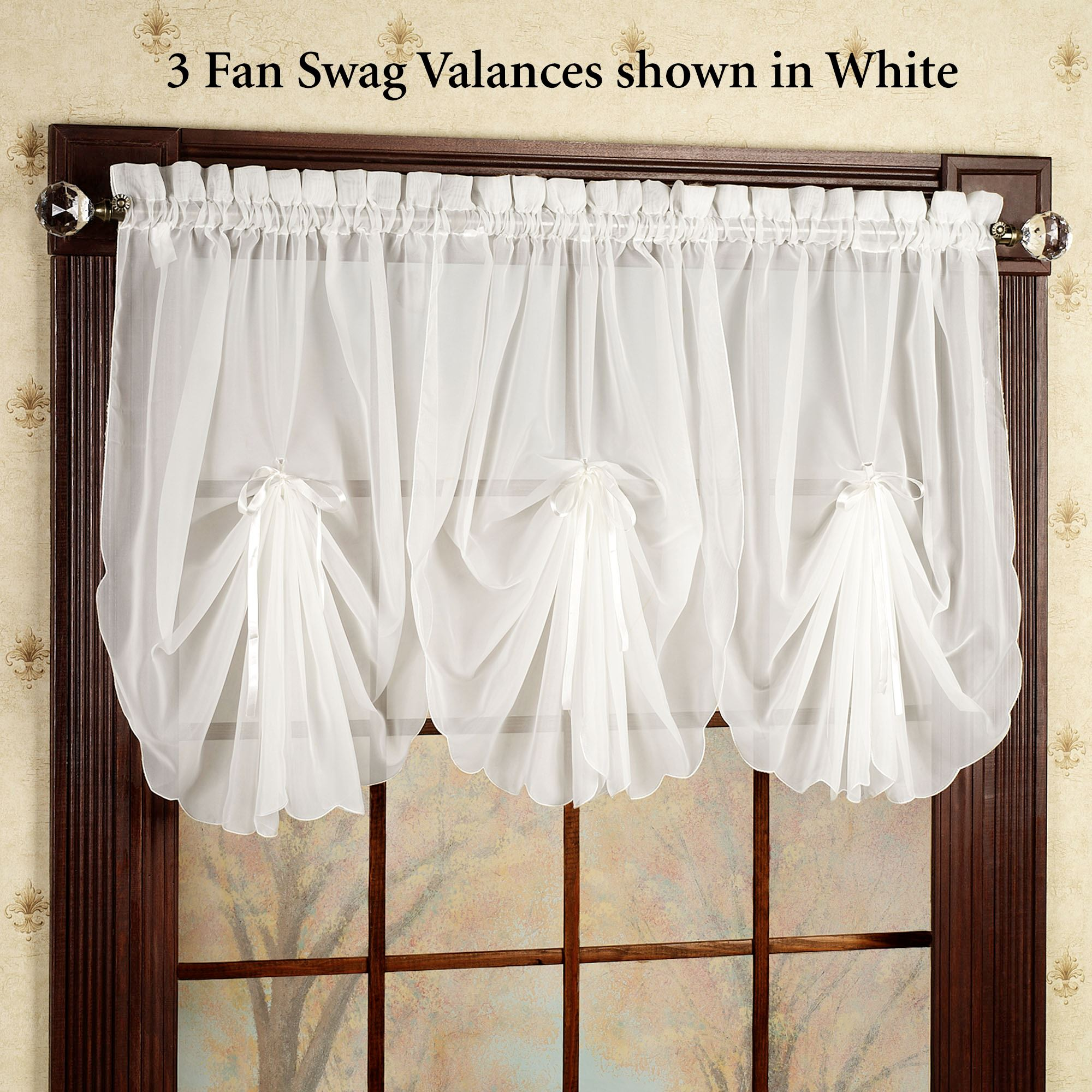 trim chelsea sheer macrame lace heritage pinstripe zoom panel valance valances with products