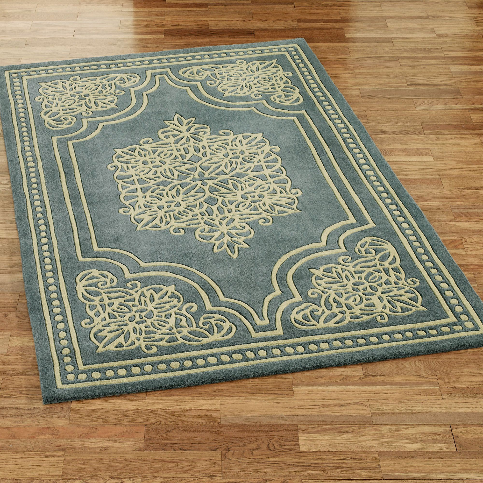 wool area rugs. Lucia Lace Rectangle Rug Steel Blue Wool Area Rugs Touch Of Class