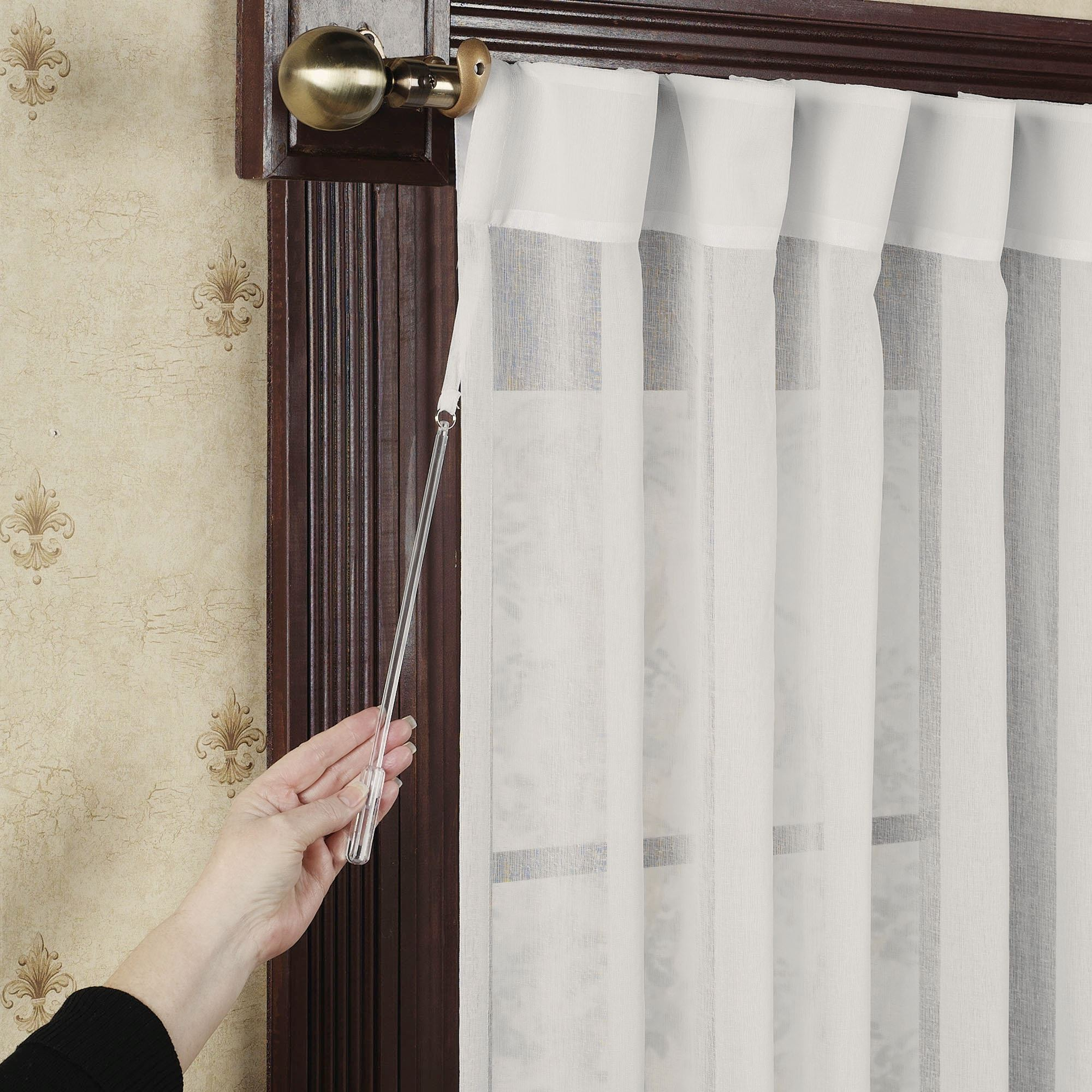 Lucerne Back Tab Patio Curtain Panel