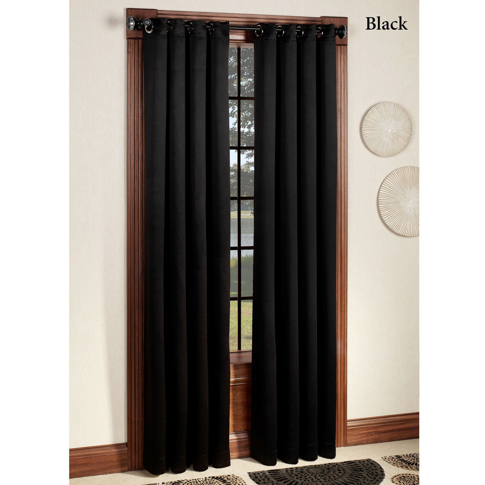 Carnivale Heavyweight Blackout Grommet Curtain Panels