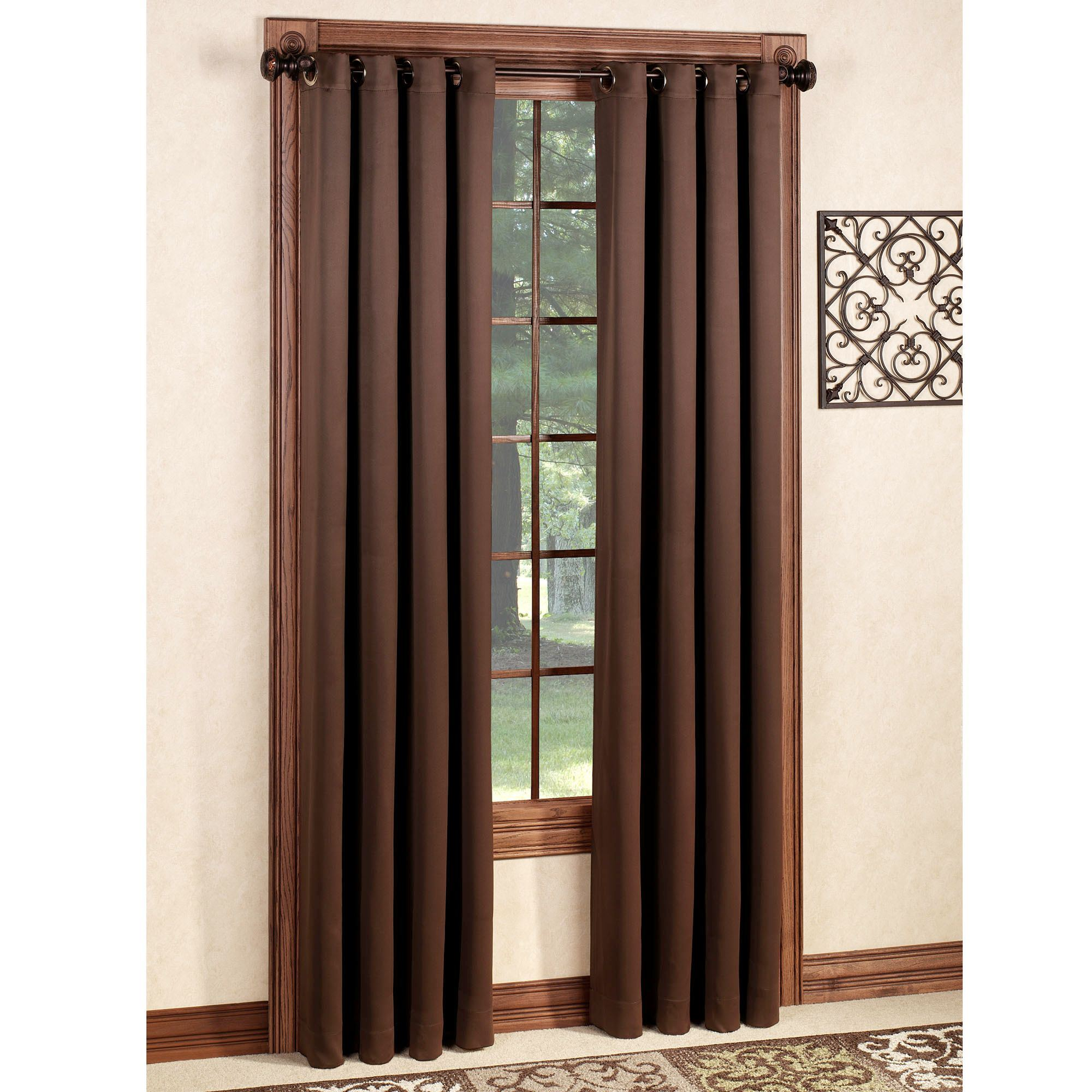 Carnivale Blackout Grommet Curtain Panel