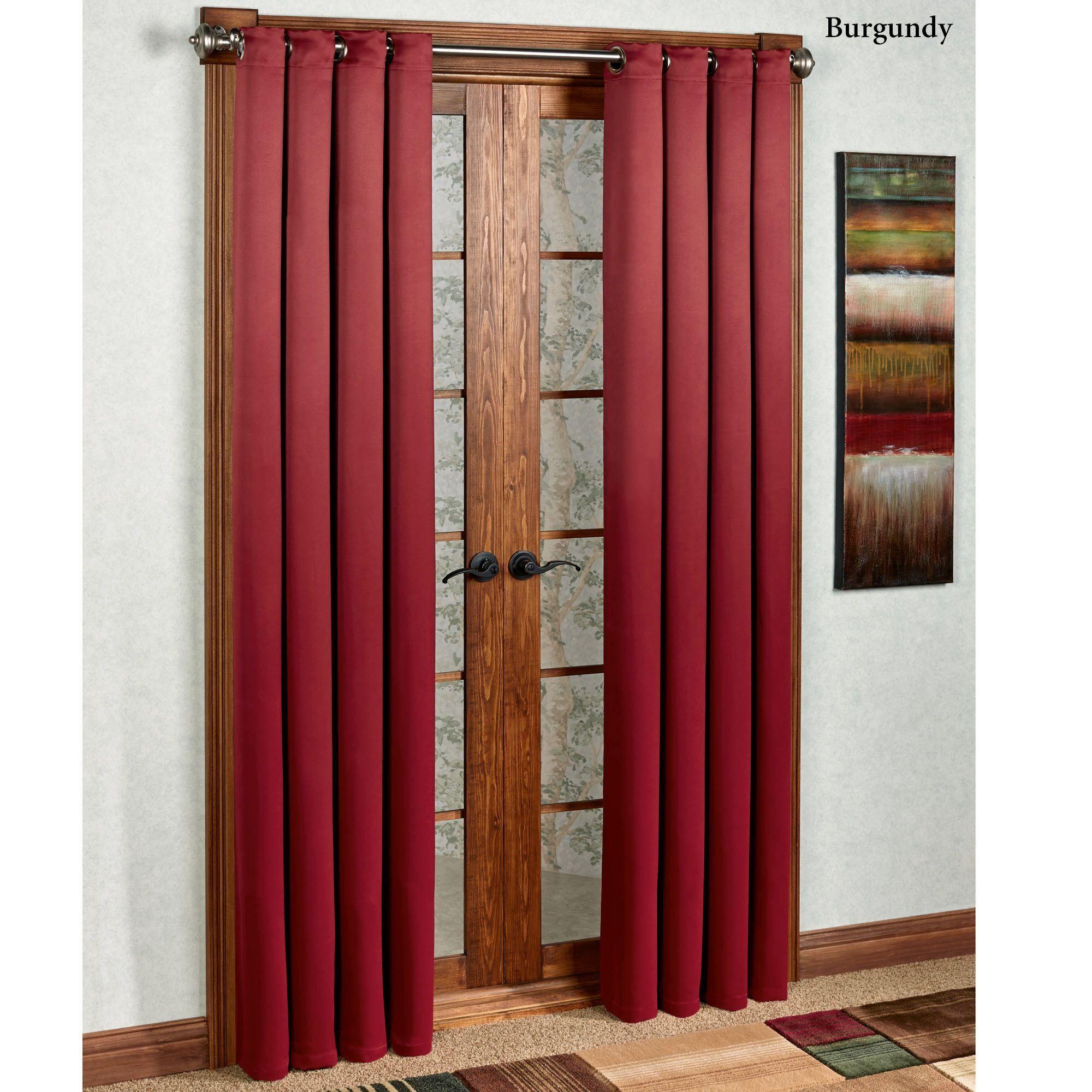 Carnivale heavyweight blackout grommet curtain panels