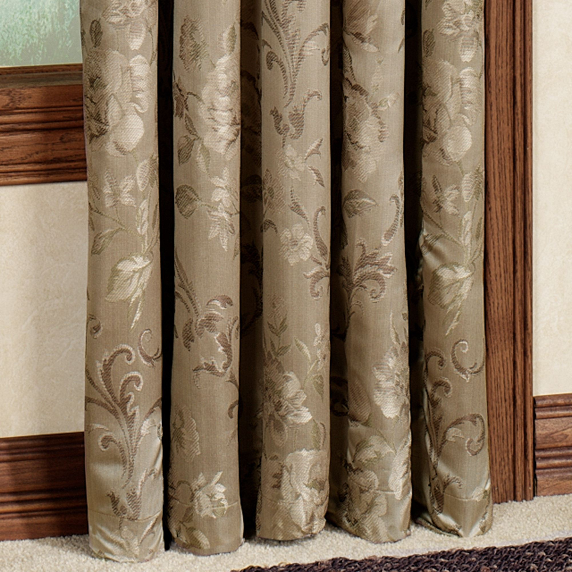 floral blue modern beige curtain fullxfull il farmhouse panels curtains products