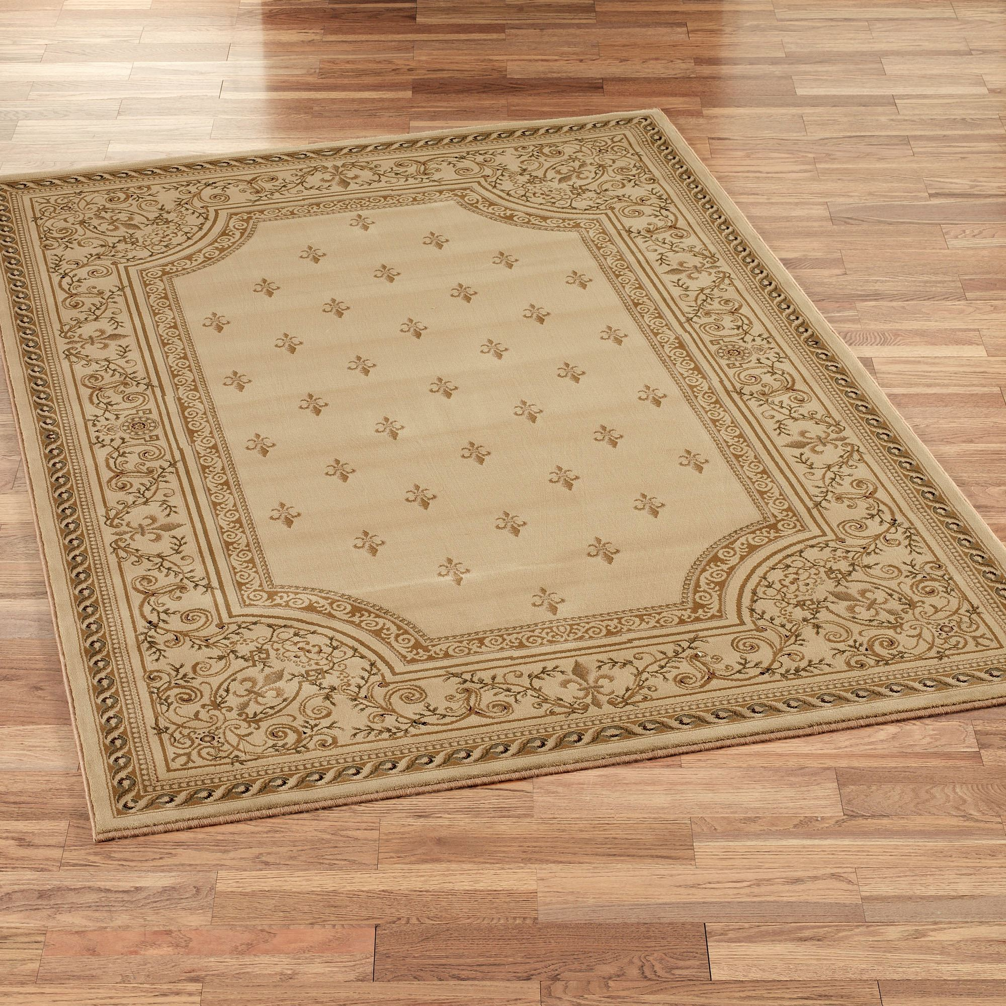 Regent Fleur De Lis Rectangle Rug