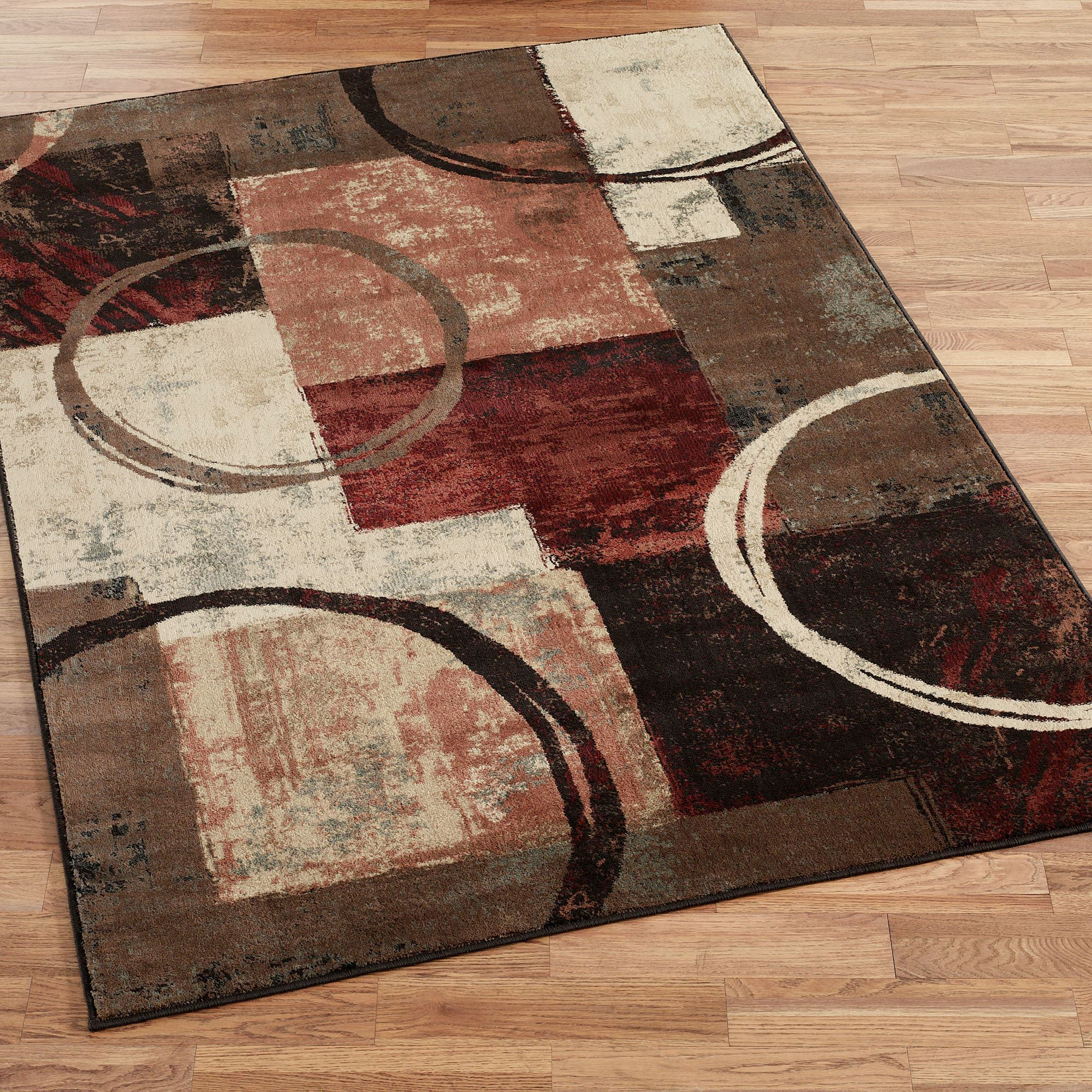 Arcade contemporary abstract area rugs for Area carpets and rugs
