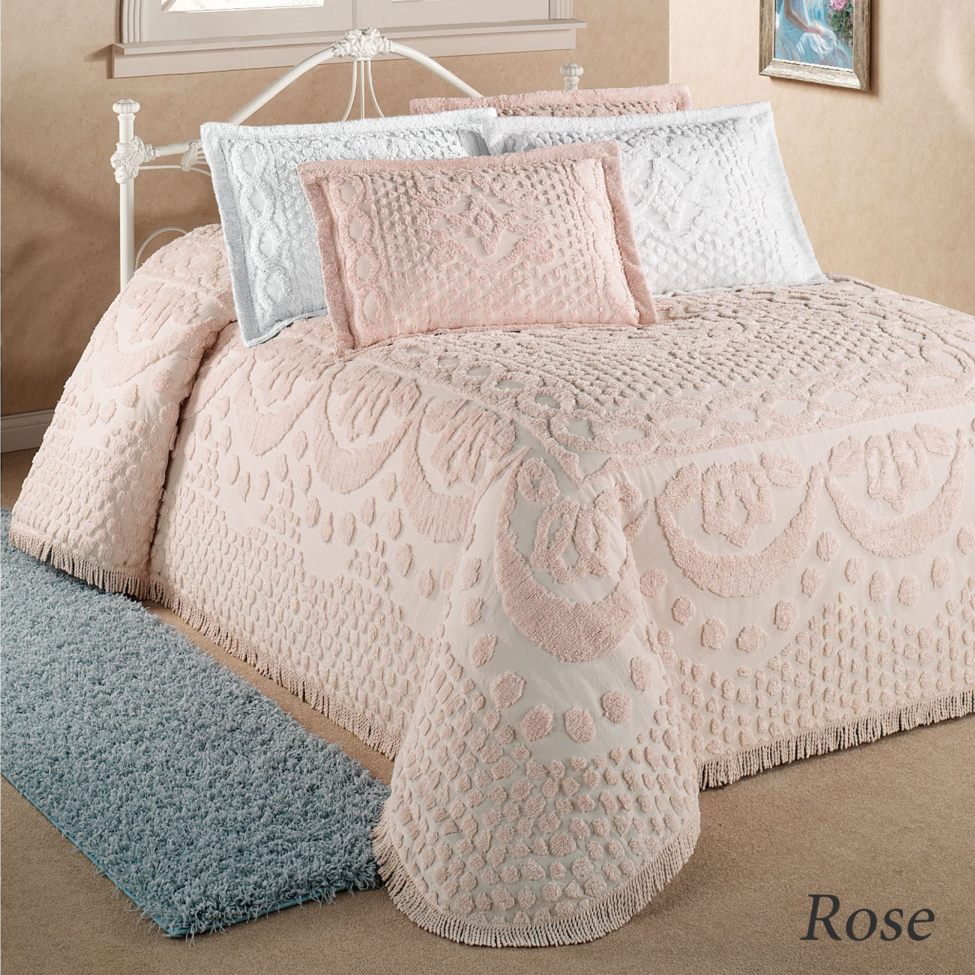 Kingston Solid Color Chenille Bedspreads