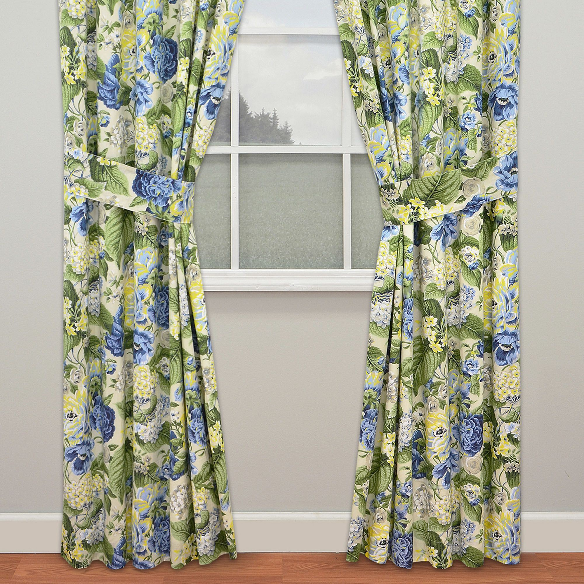 tailored light or v short seaview curtain blue x pair valance p coastal curtains