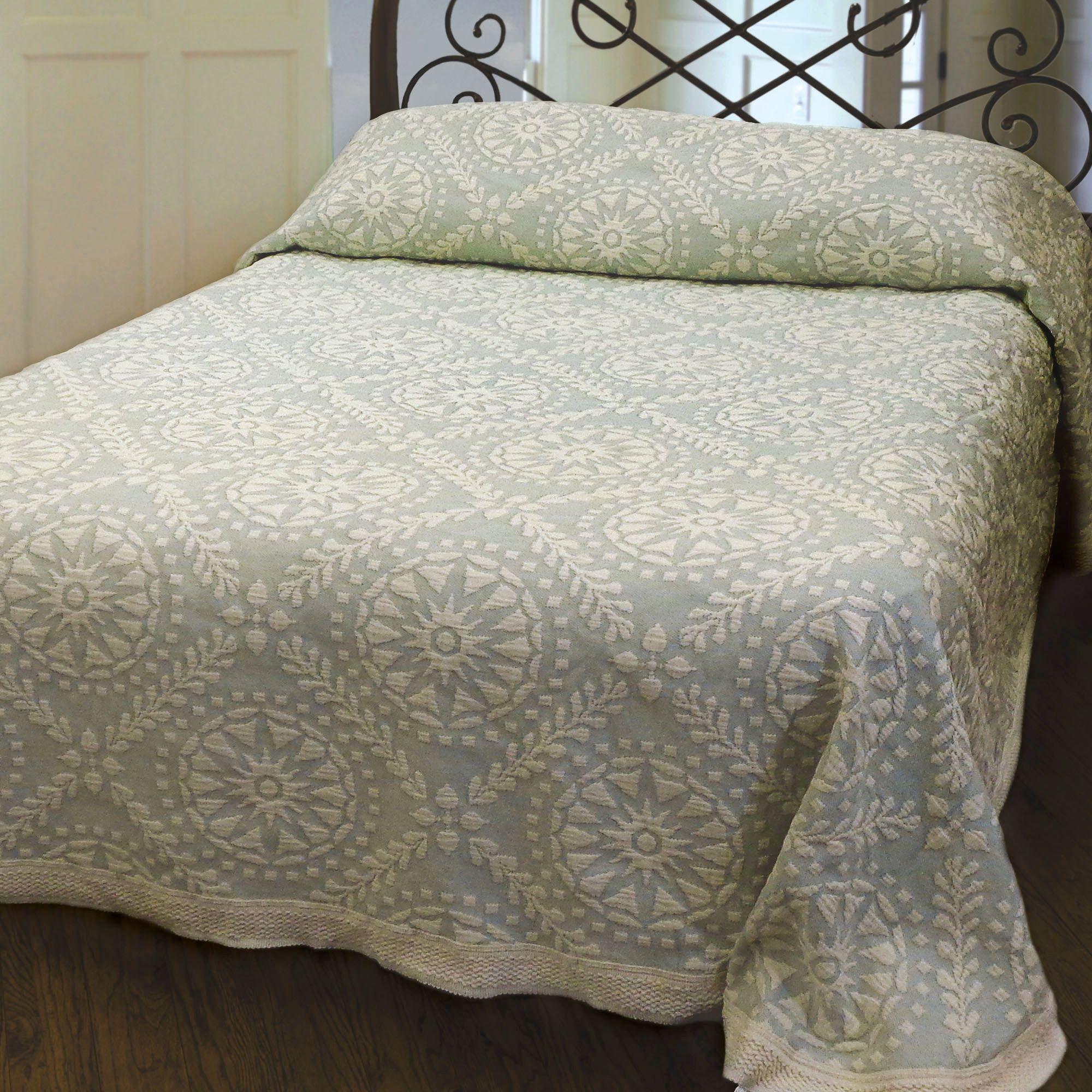 bed epoque bedding coverlet by matelasse woven belle botanica p
