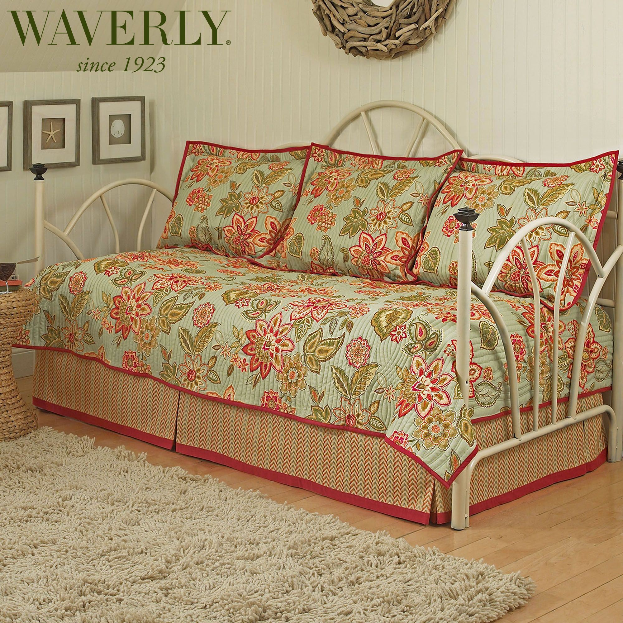 trellis bedding pin sets floral and quilts quilt daybed