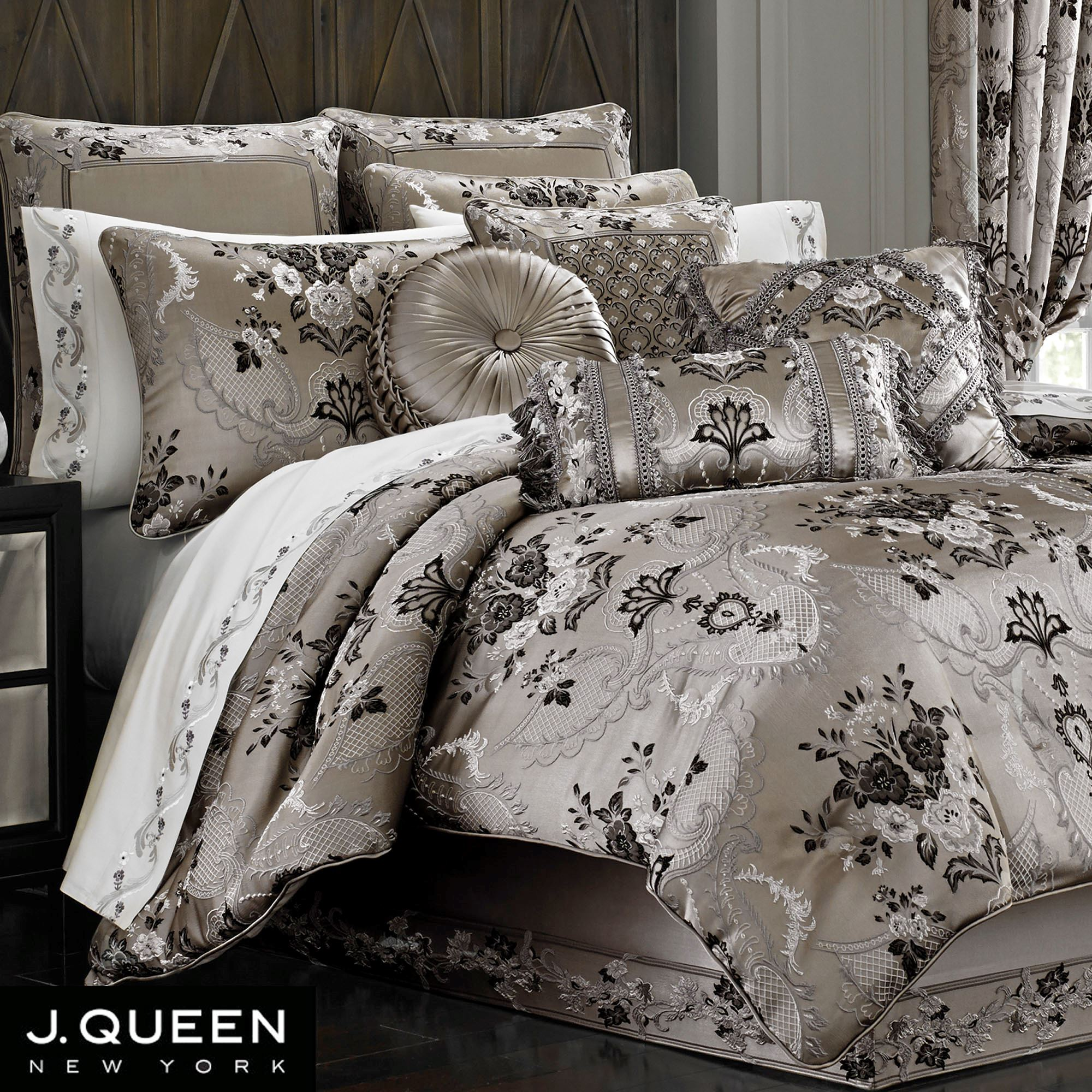and hotel bed prime blackwhitegrey queen tiles bag sets comforter mainstays pic in incredible king files size pc design astonishing of top style a set bedding trend