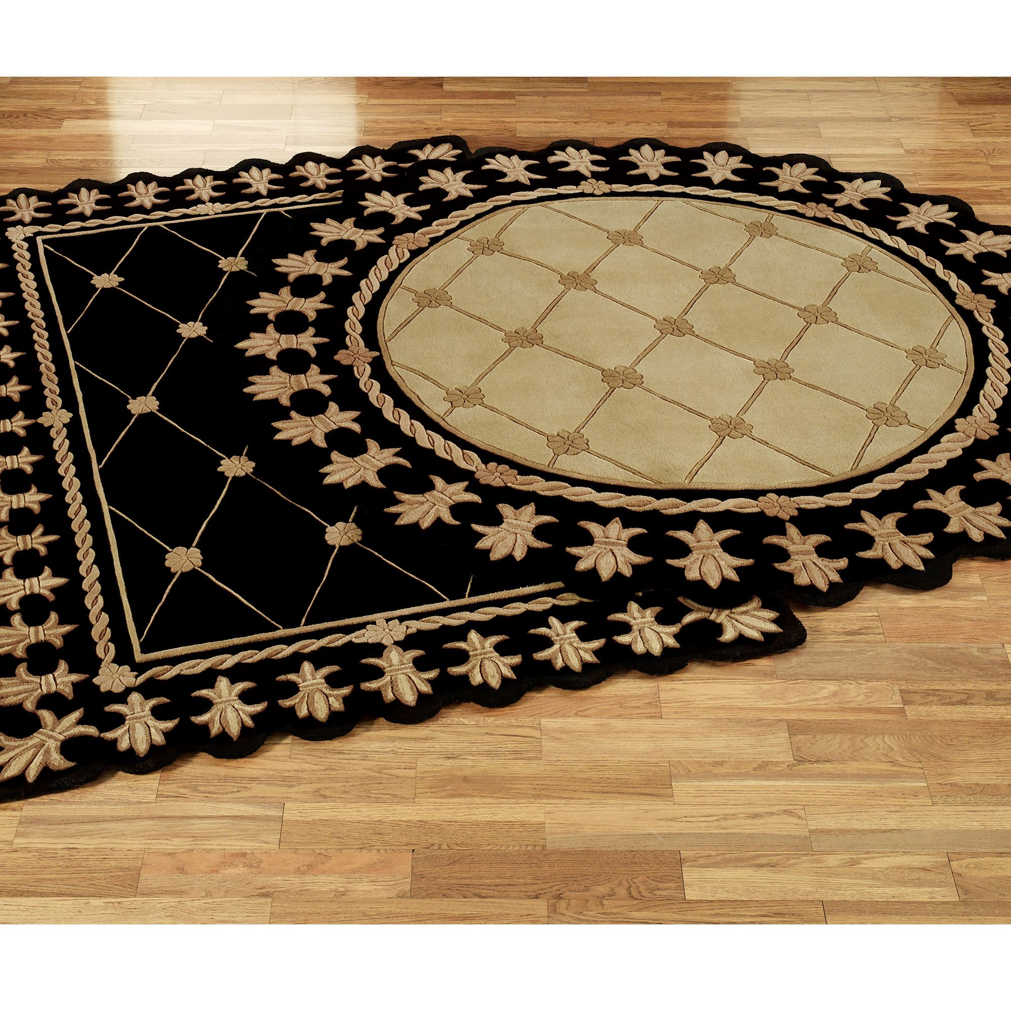 Onyx Empire Round Rugs
