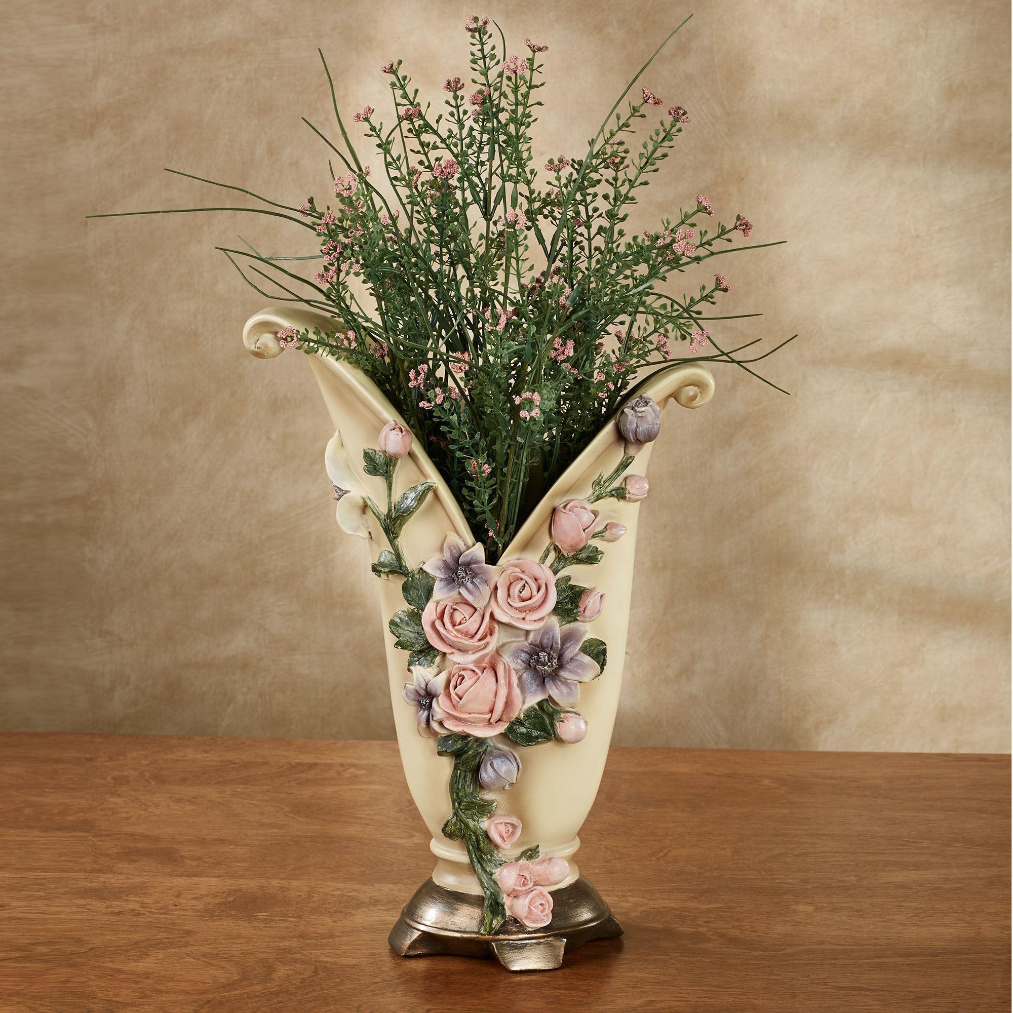 Summer Florals Decorative Table Vase