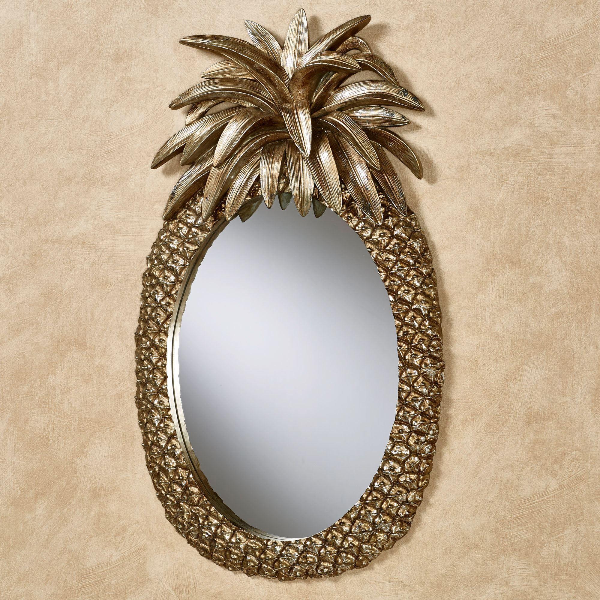 Pineapple Grandeur Tropical Wall Mirror
