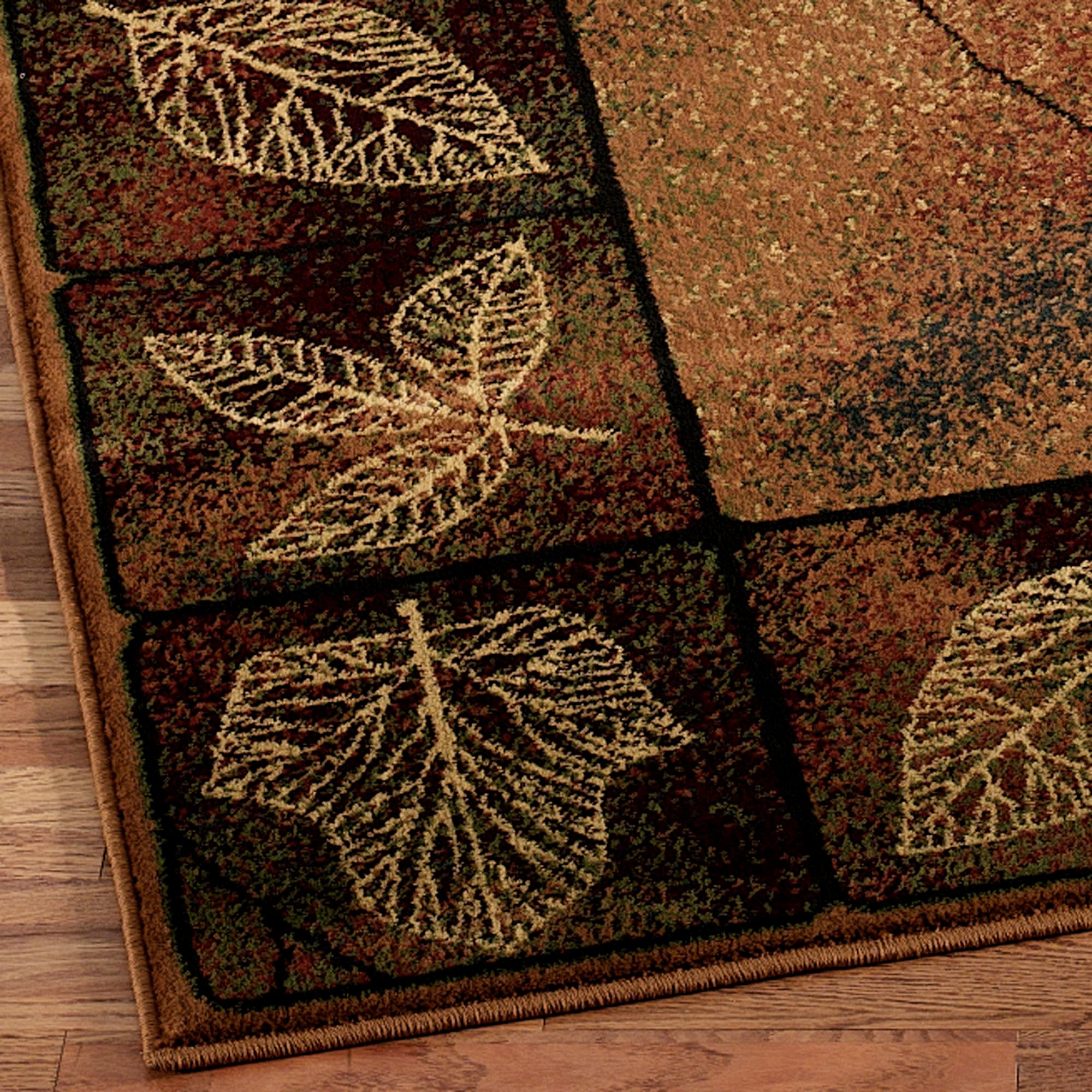 Area Rugs With Leaf Design Maryanlinux