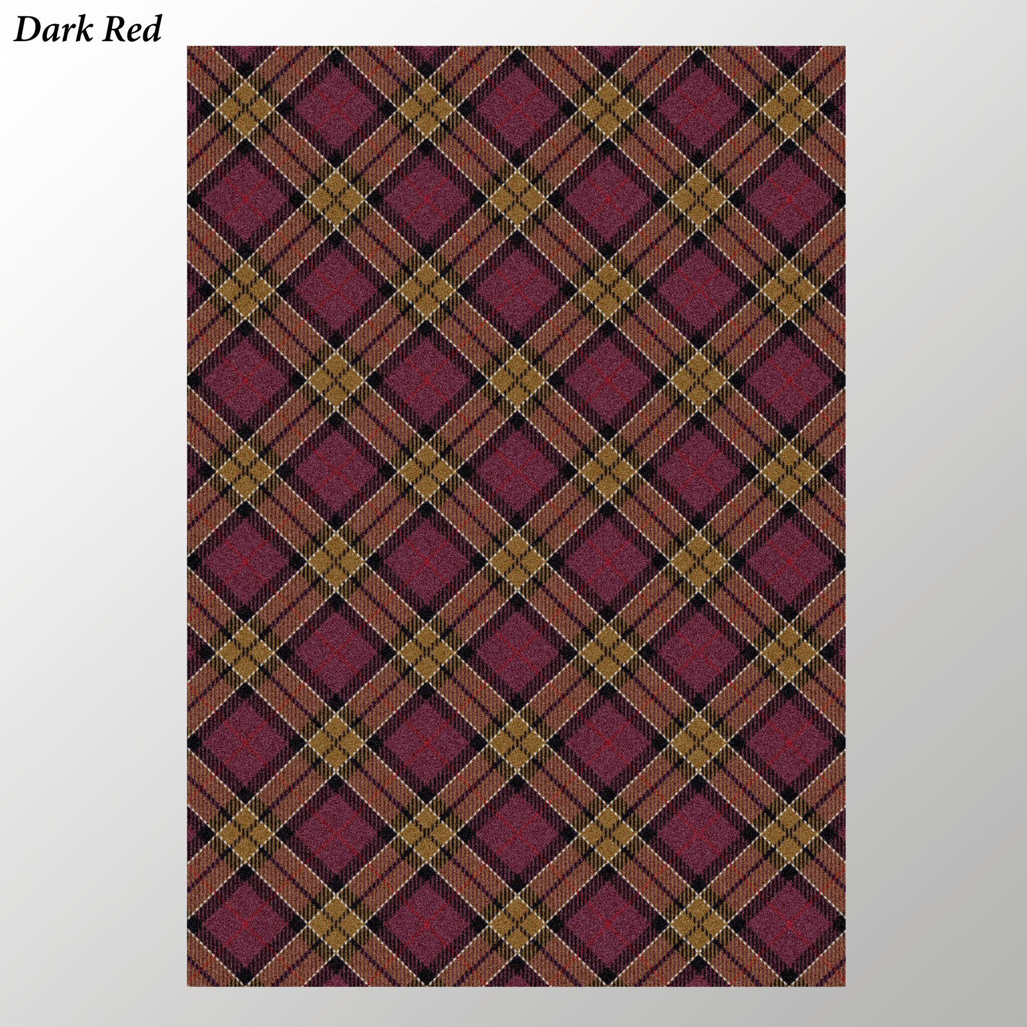 Milliken Carpets Christmas Plaid Area Rugs
