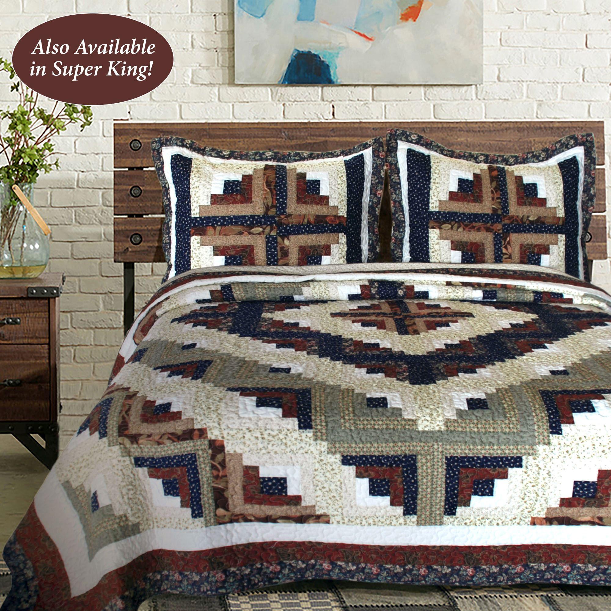 Colorado Cabin Patchwork Quilt Bedding : the patchwork quilt summary - Adamdwight.com