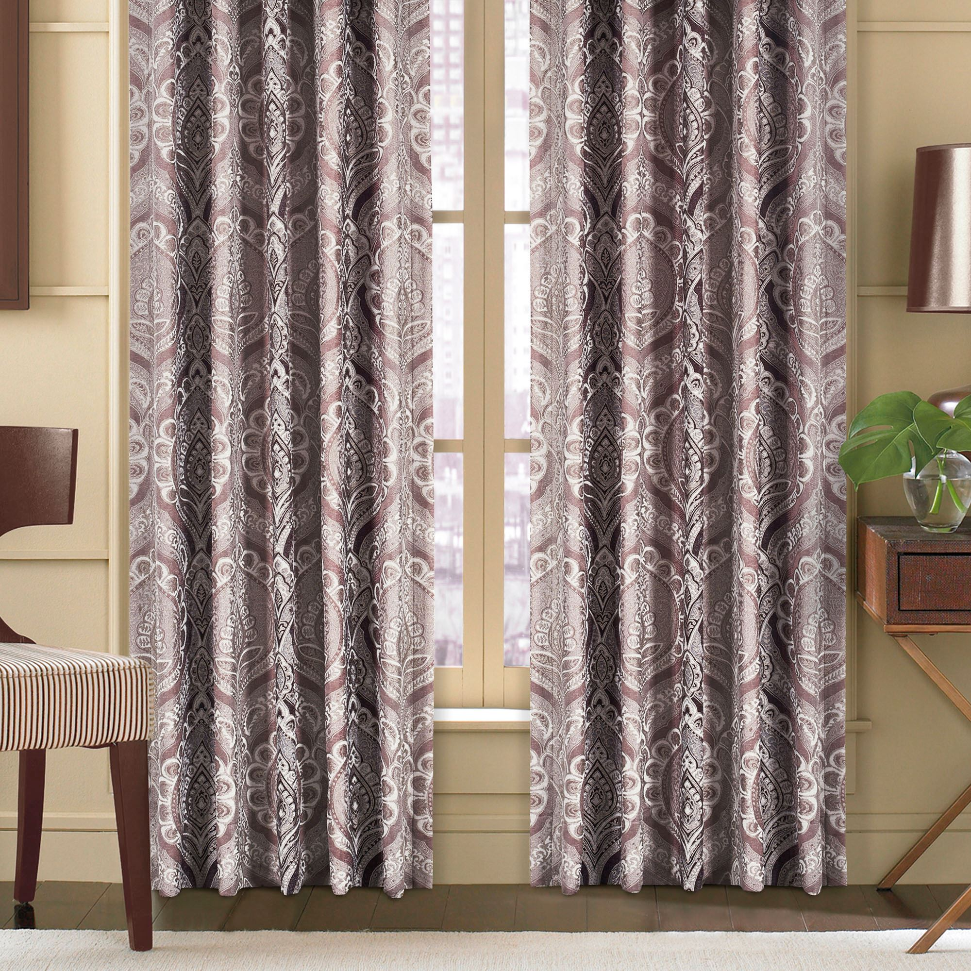 j set york light bedding athena p queen new taupe by comforter medallion curtains