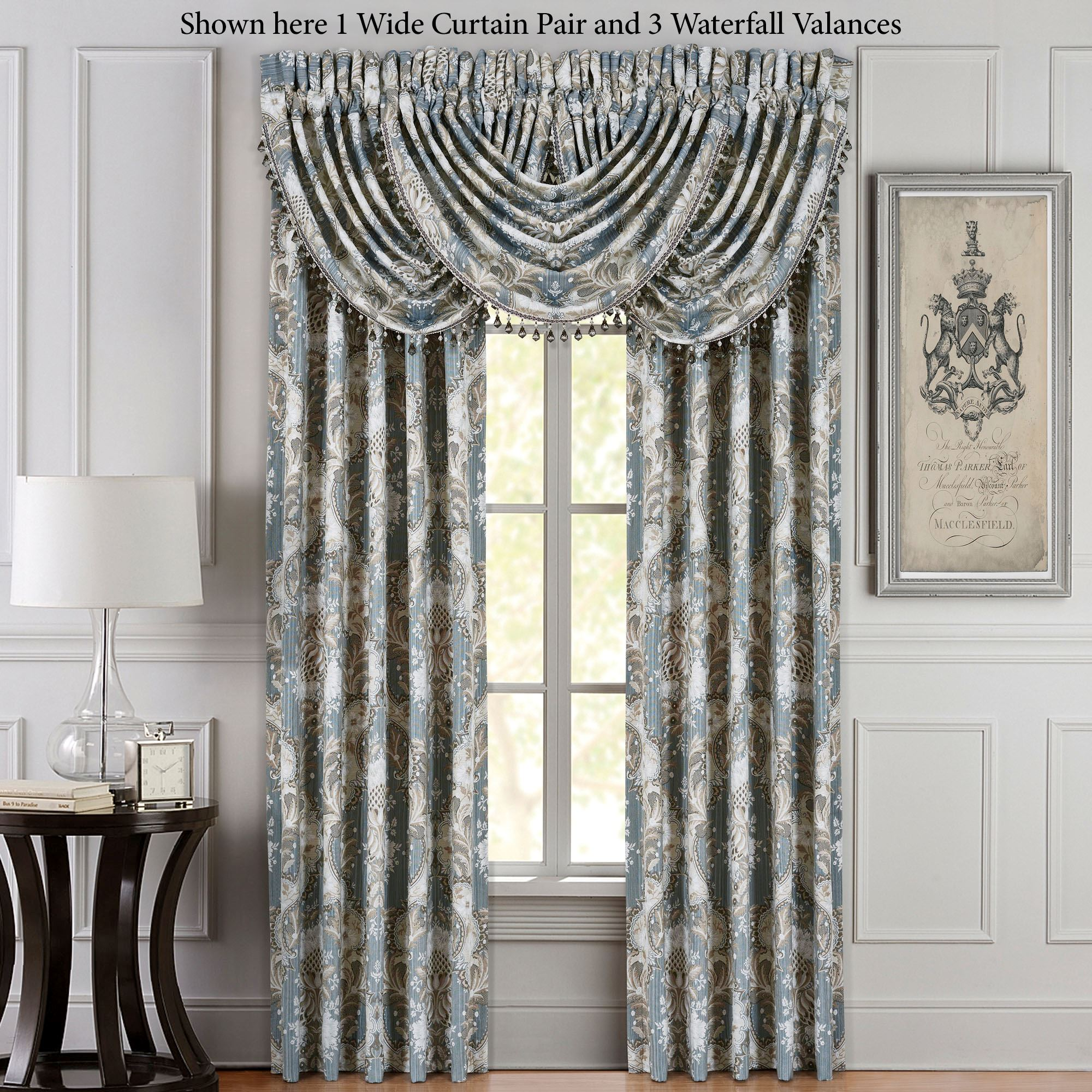 Wide Window Curtains French and Patio Door Panels