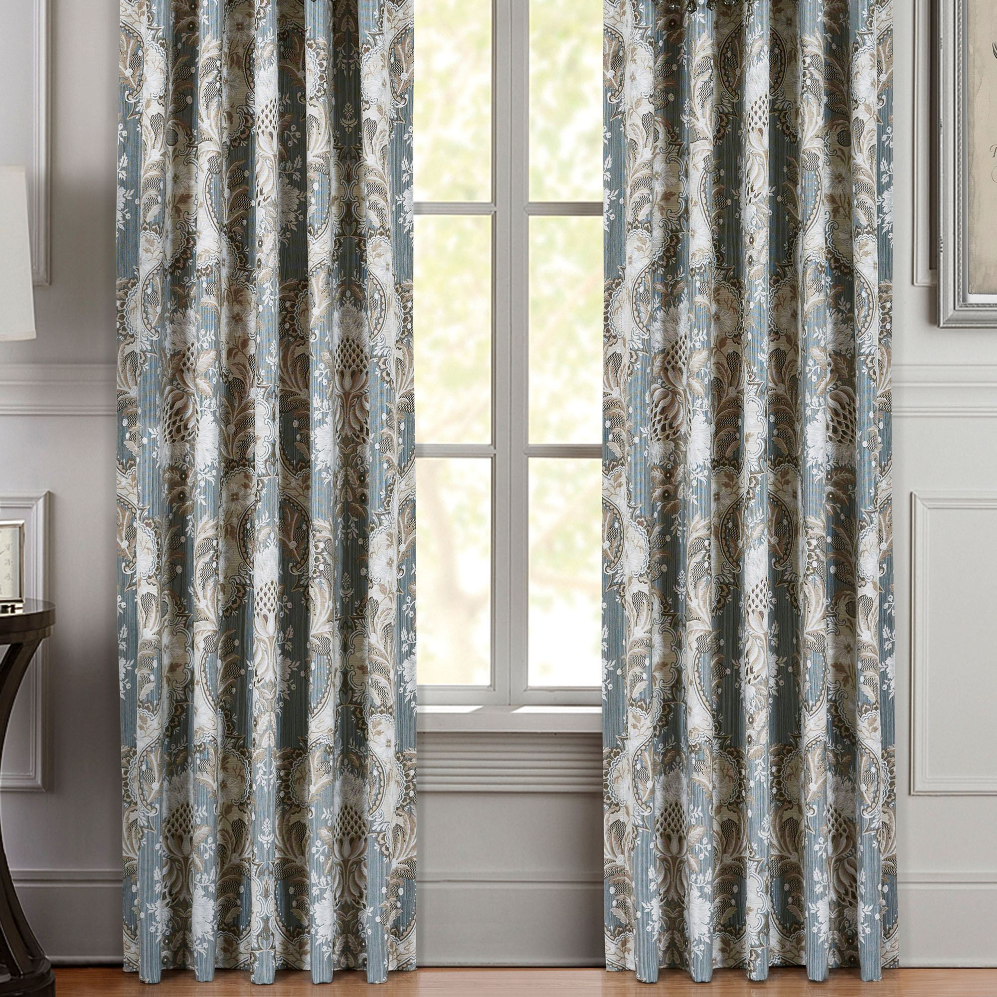 xxx living do indoor blue grommet seascapes window solid product set of curtains outdoor coastal