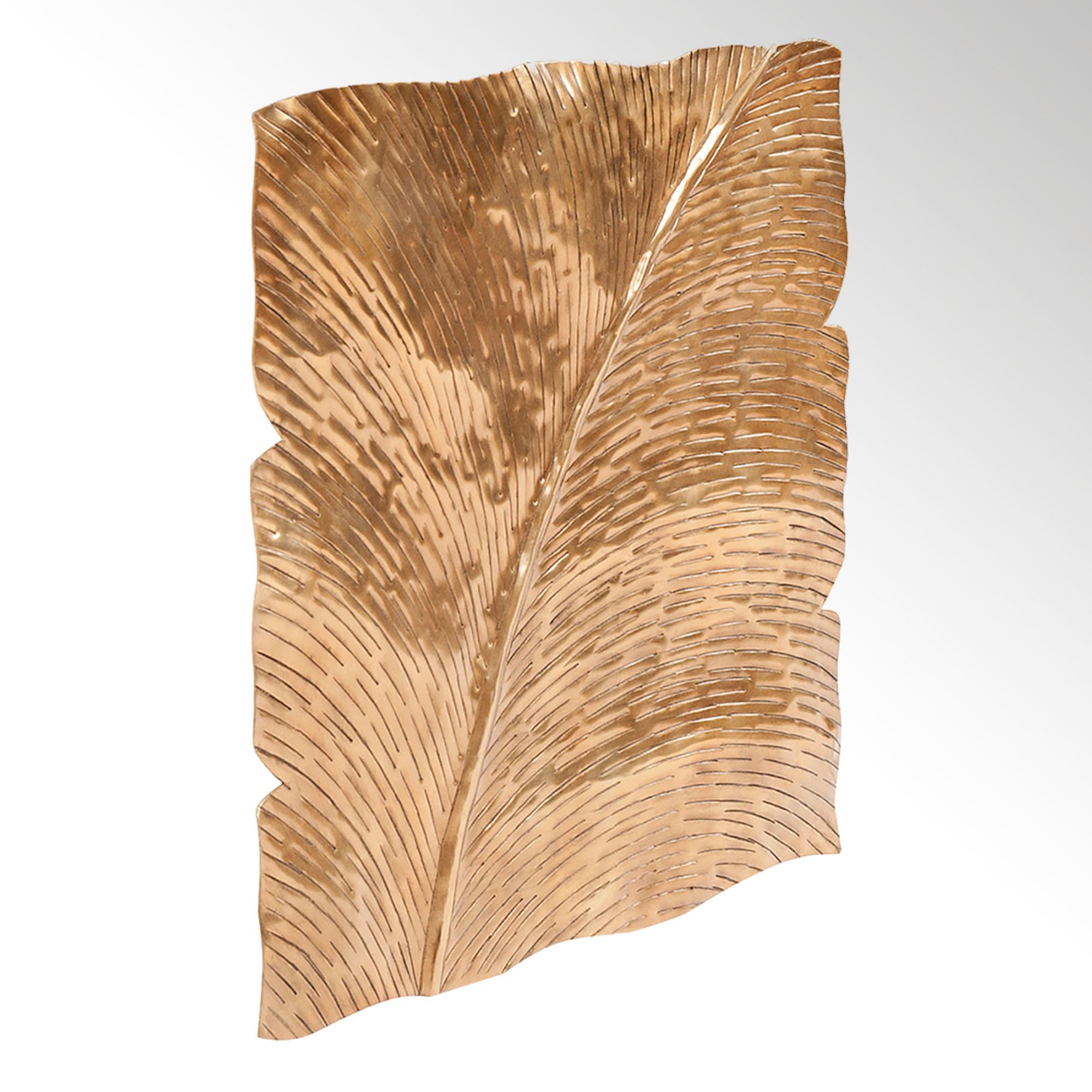 Fantastic Metal Leaf Wall Art Pattern - The Wall Art Decorations ...