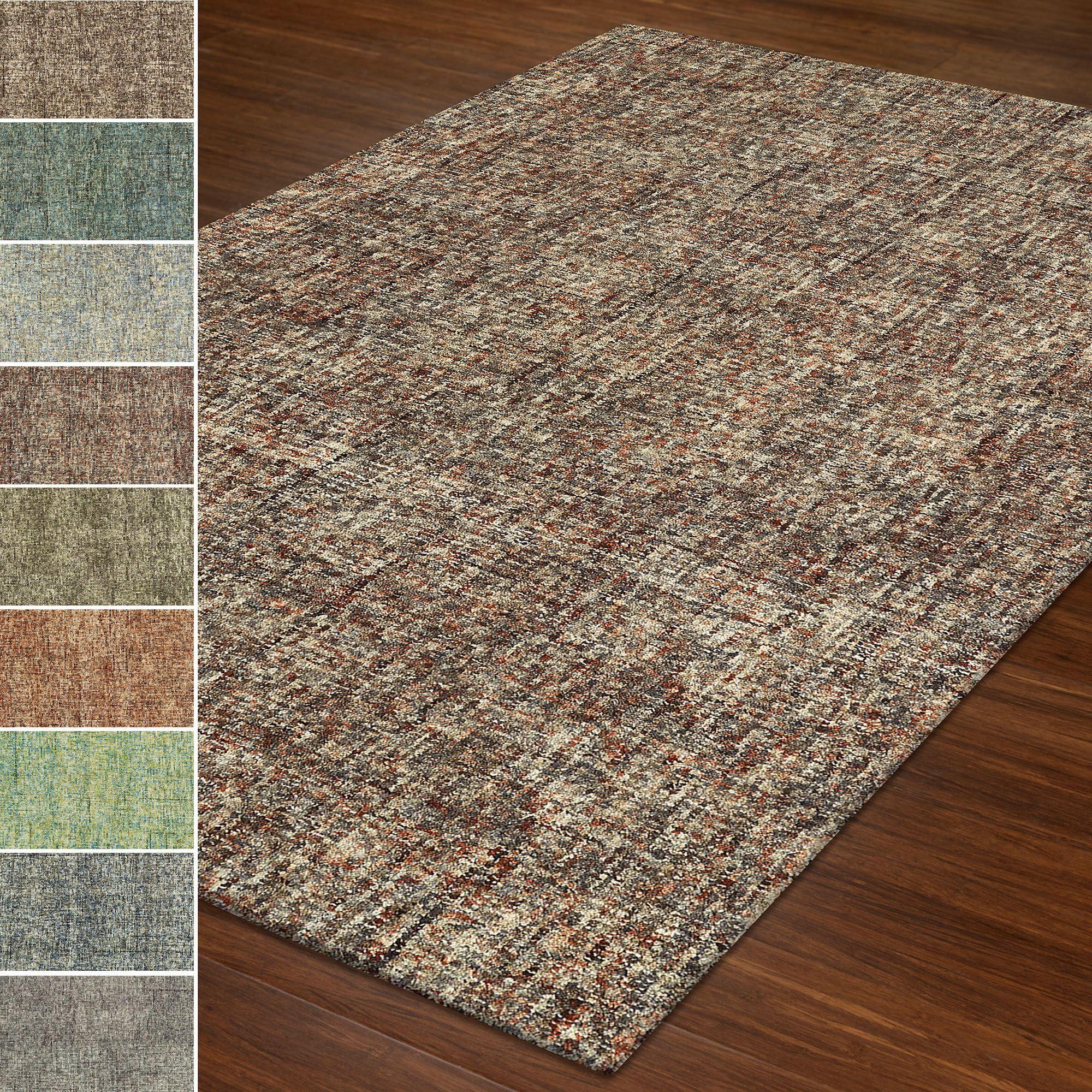 Kalissa Variegated Wool Area Rugs
