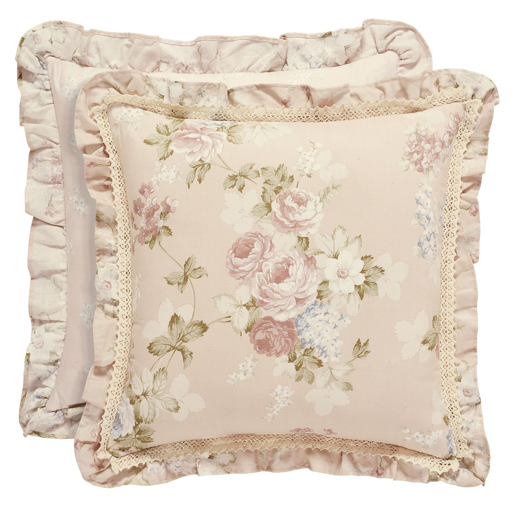 pillows pillow pink pale carousel designs striped accent throw large stripe ticking yellow