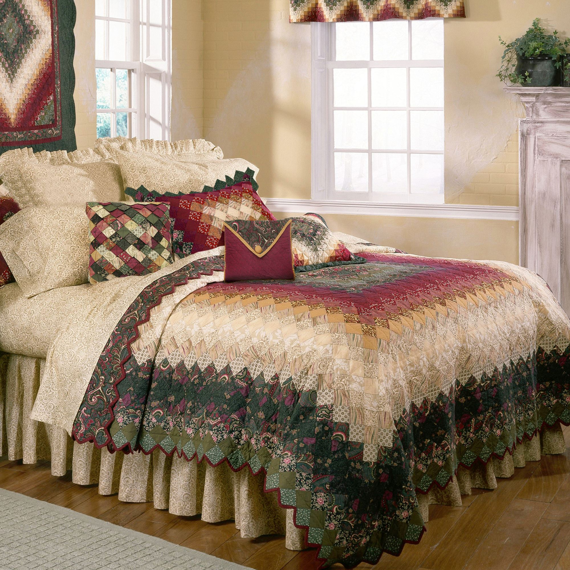 Spice Trip Ii Patchwork Quilt Bedding By Donna Sharp