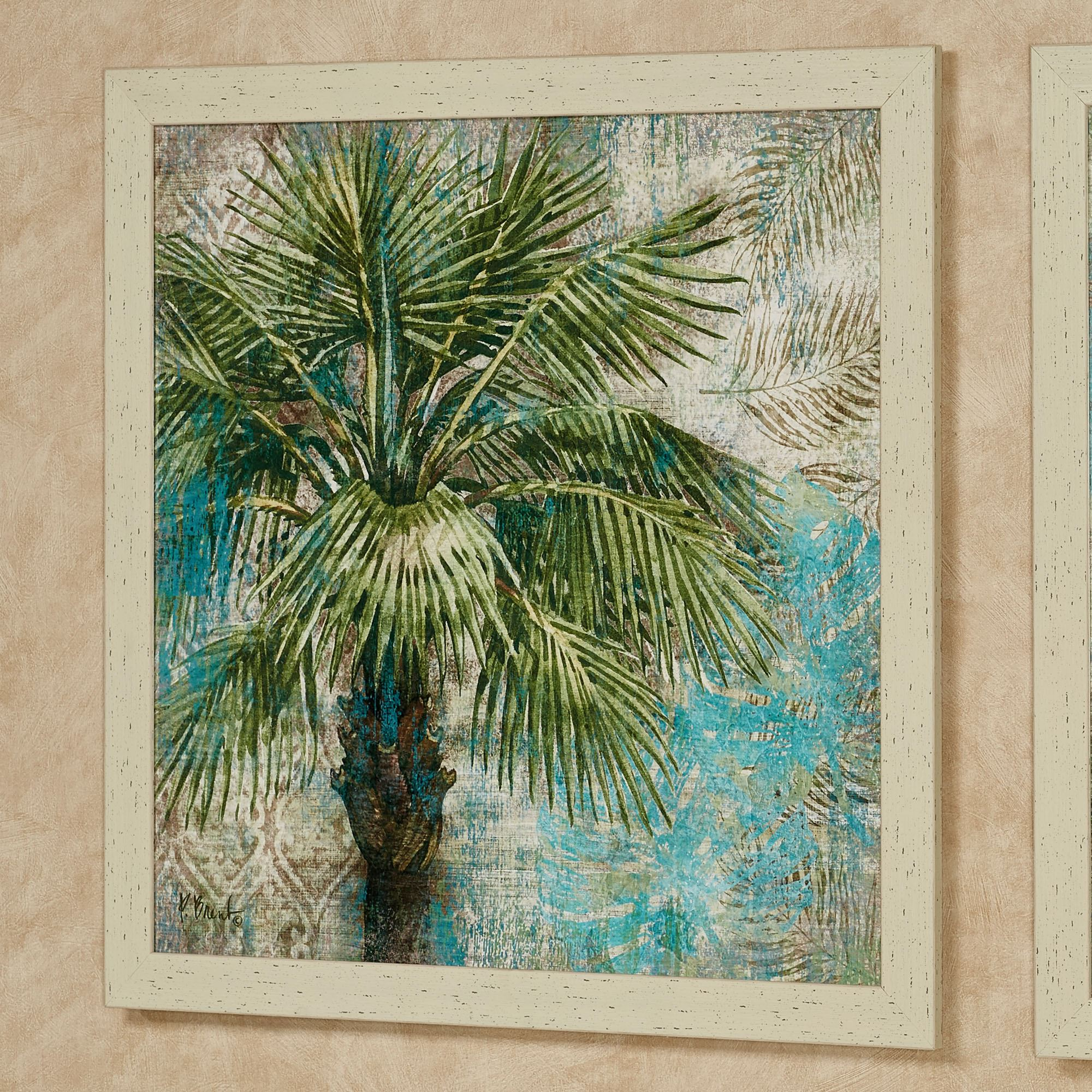 Palm Tree 1 Wall Art Green