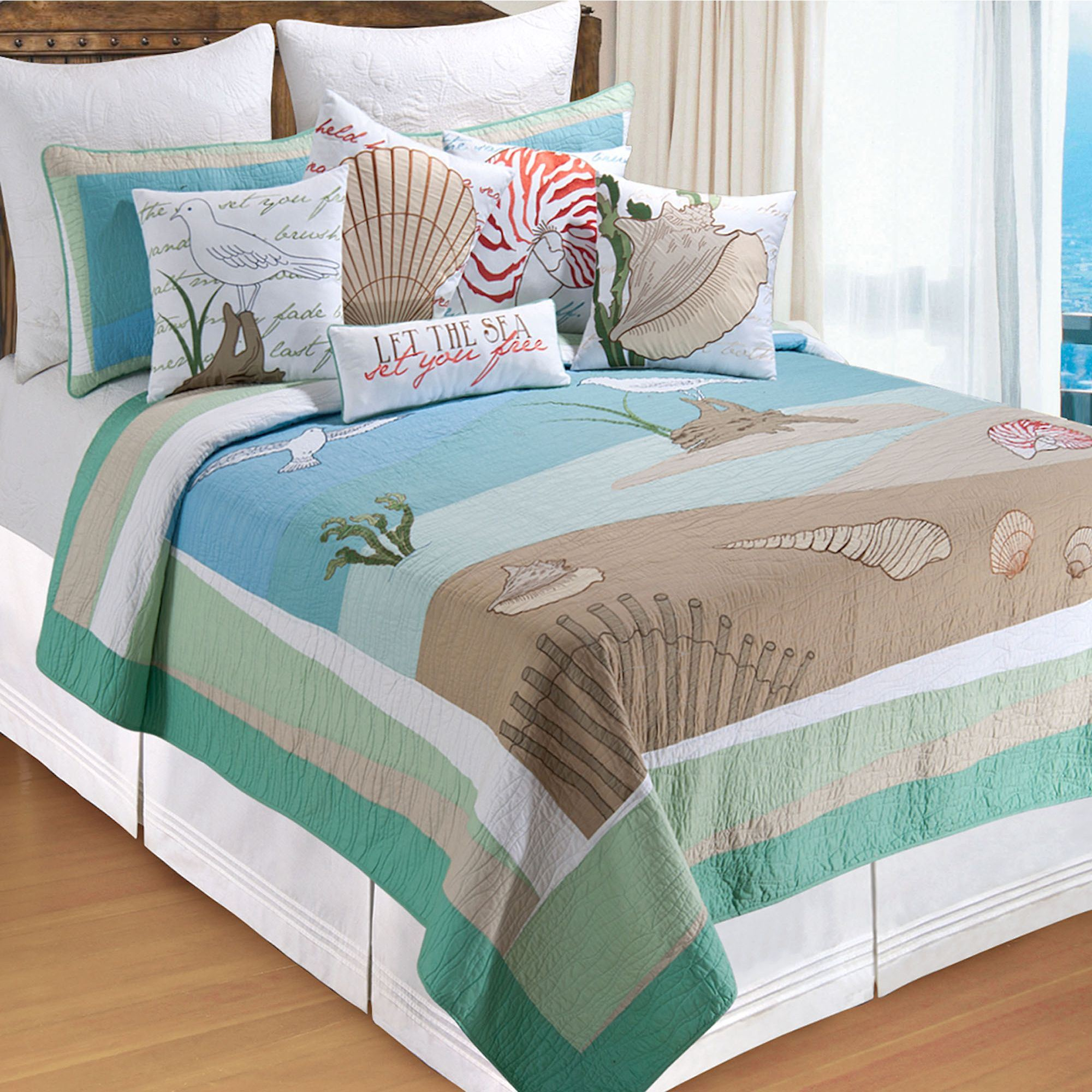 full covers design bright coastal bedding life themed room comforter doona size tropical king bedroom collection ocean bed beach sets quilts quilt cottage twin cover of sheets ideas