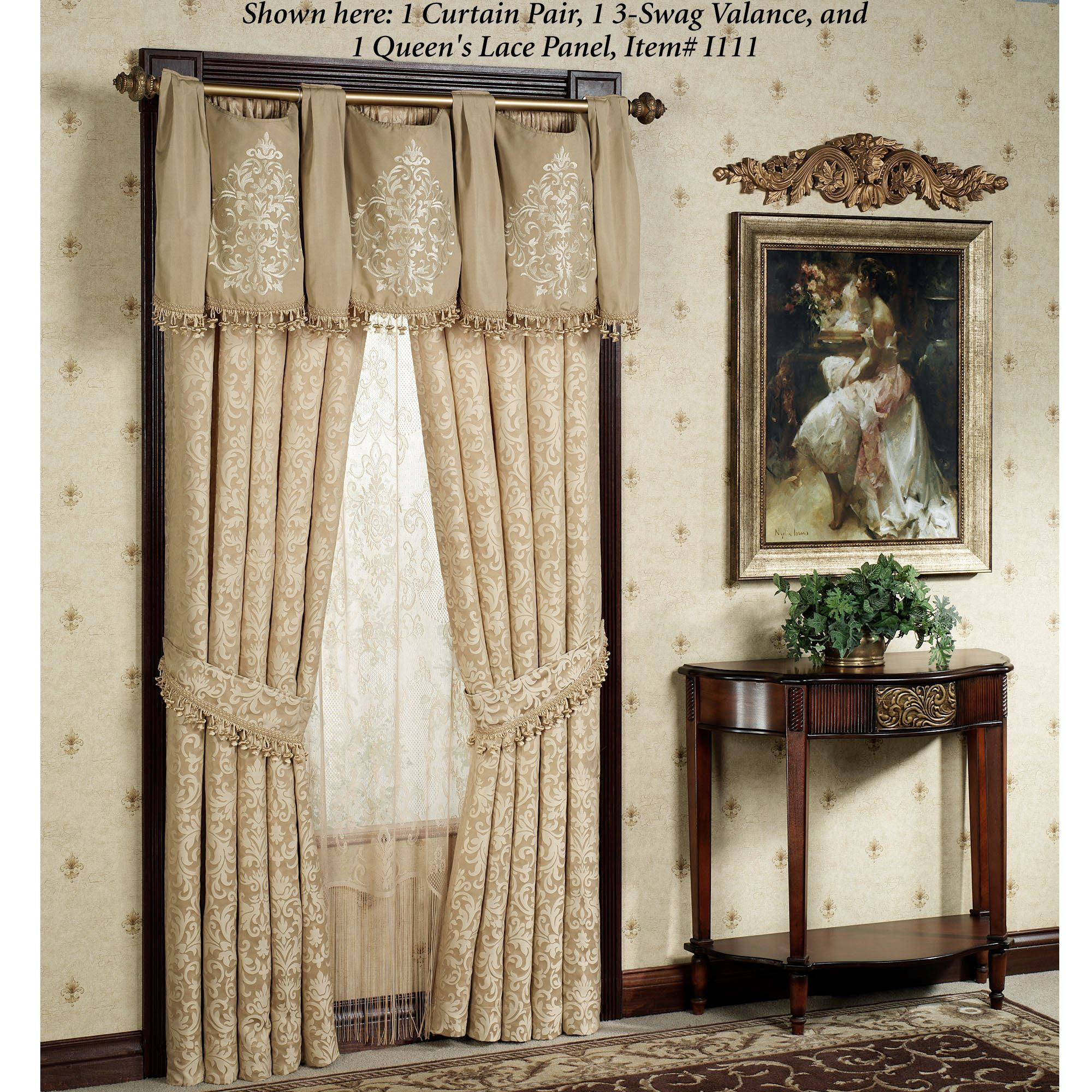 Newcastle Waterfall Valances