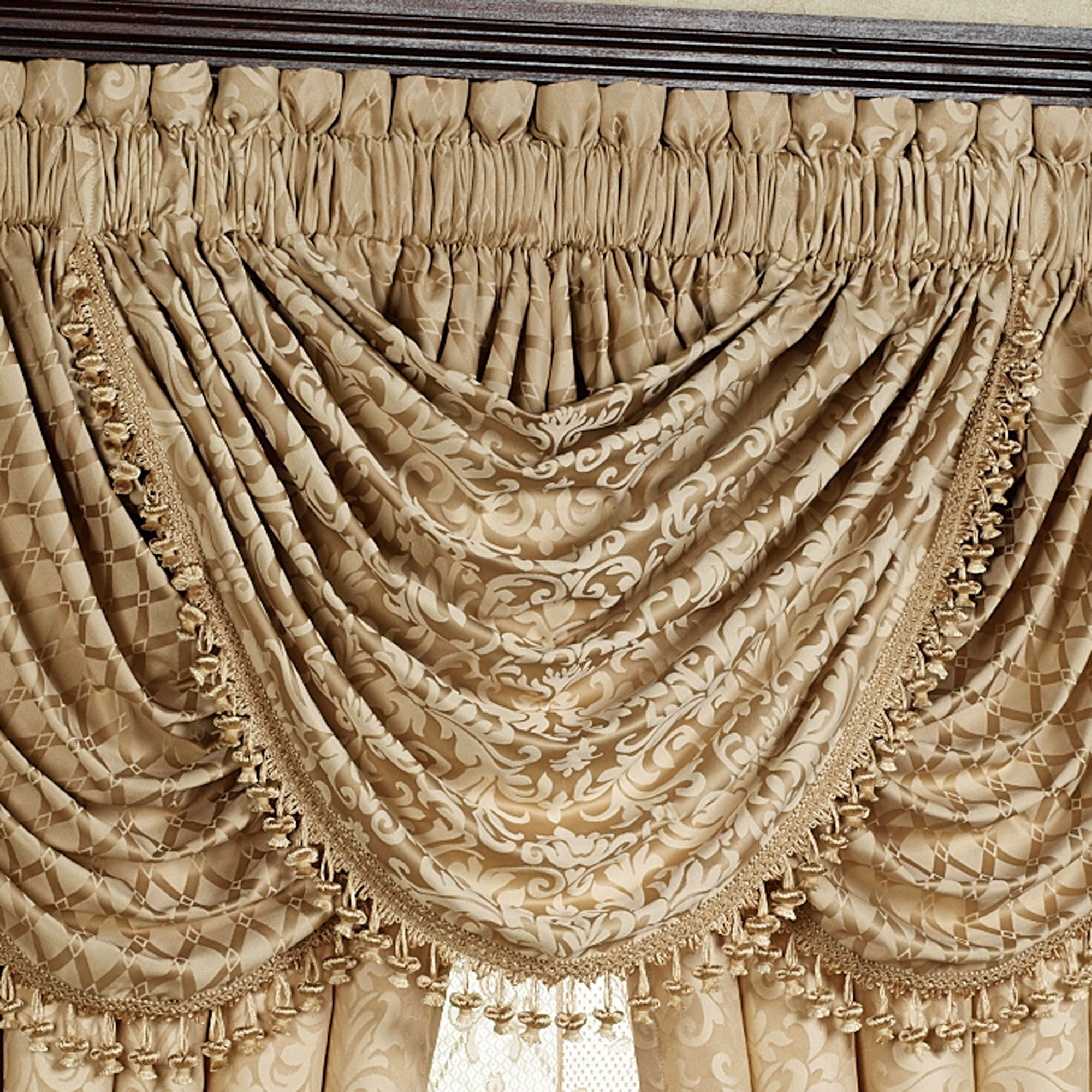 serafina croscill curtain home valance pdx fashions reviews valances swag window waterfall wayfair treatments