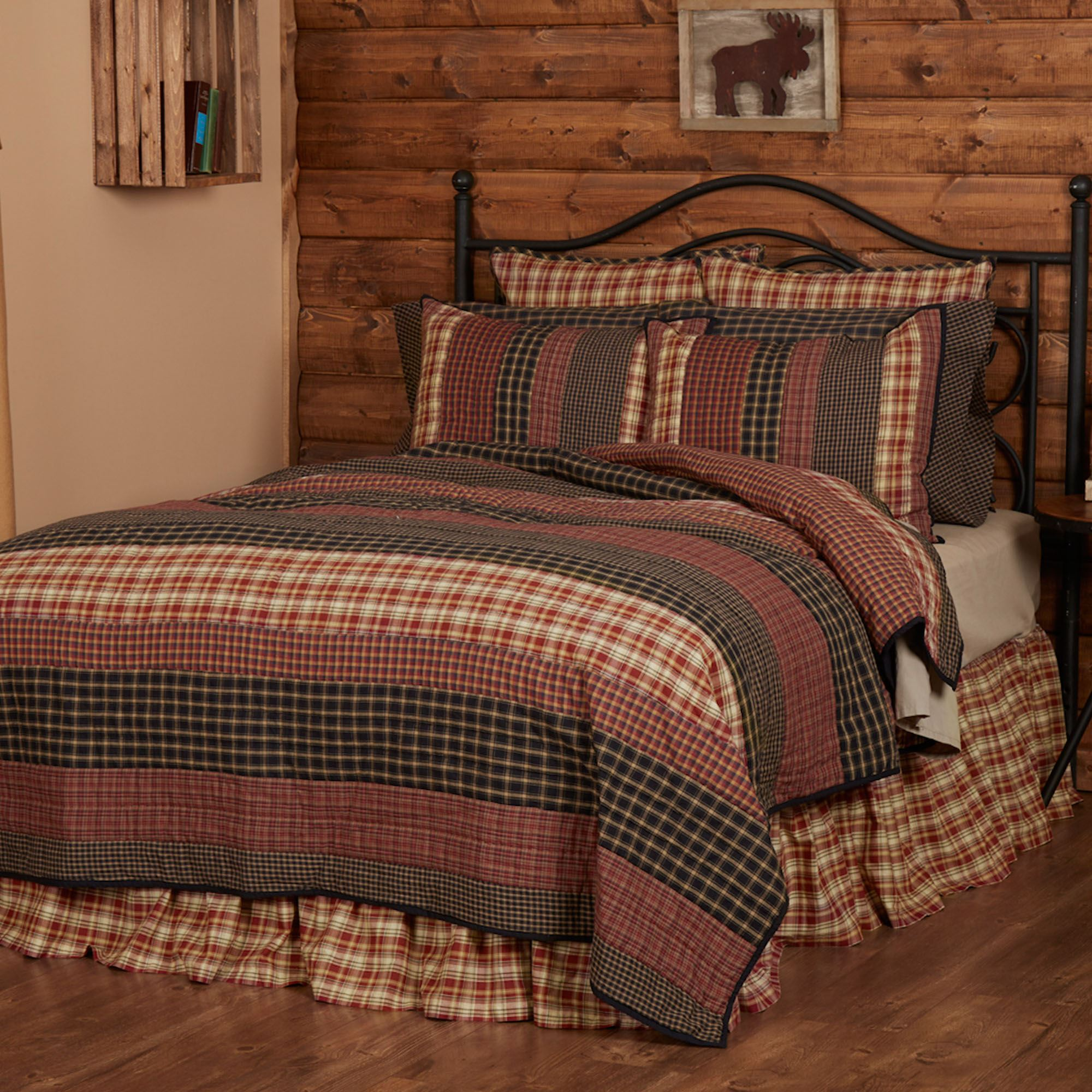 Beckham Rustic Plaid Quilt Set : plaid comforters and quilts - Adamdwight.com