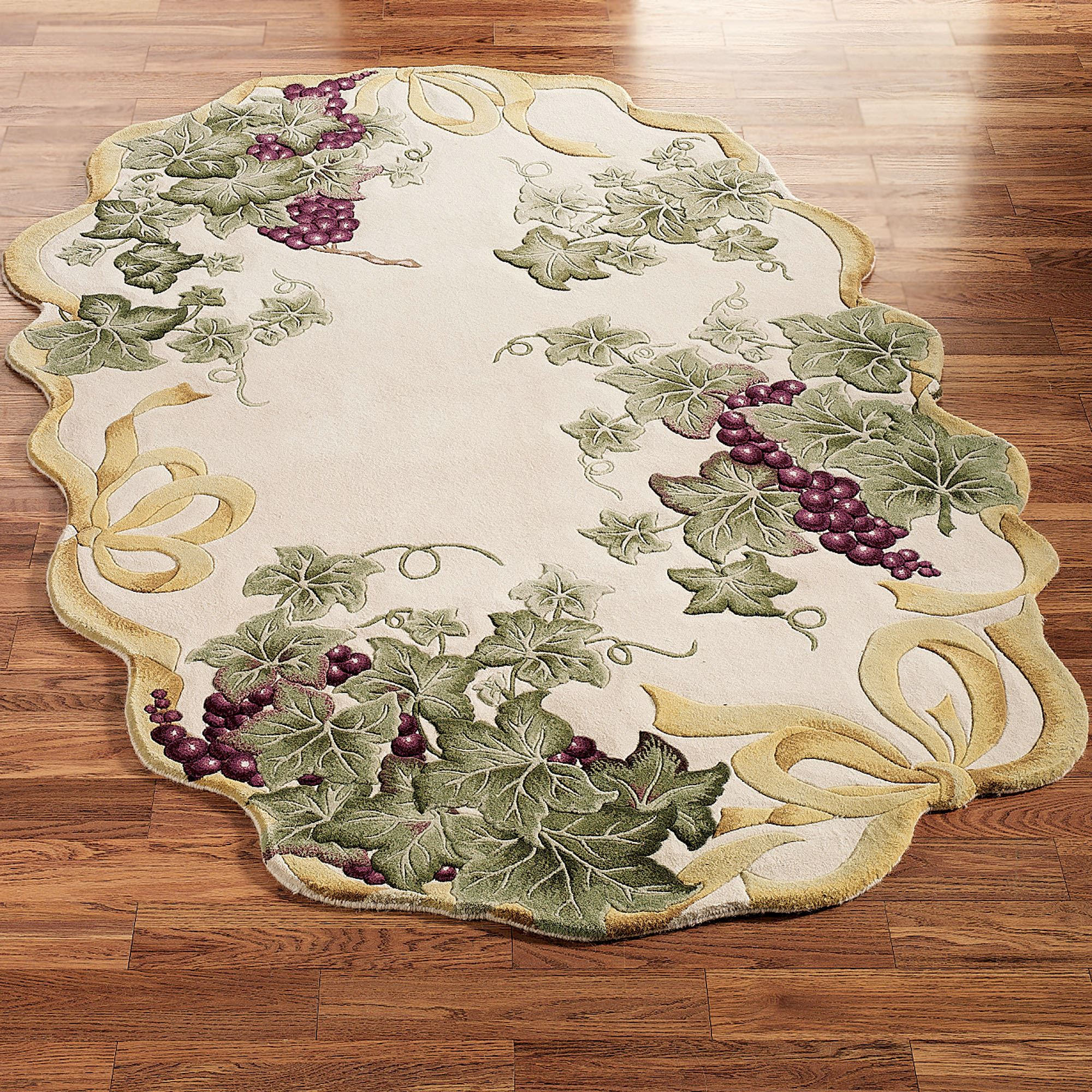 Ribbon G S Oval Rug