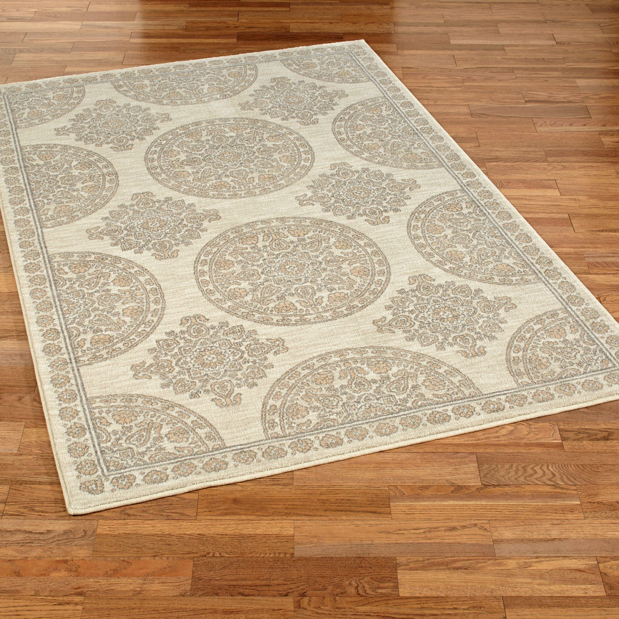 mohawk olympia medallion stain resistant area rugs