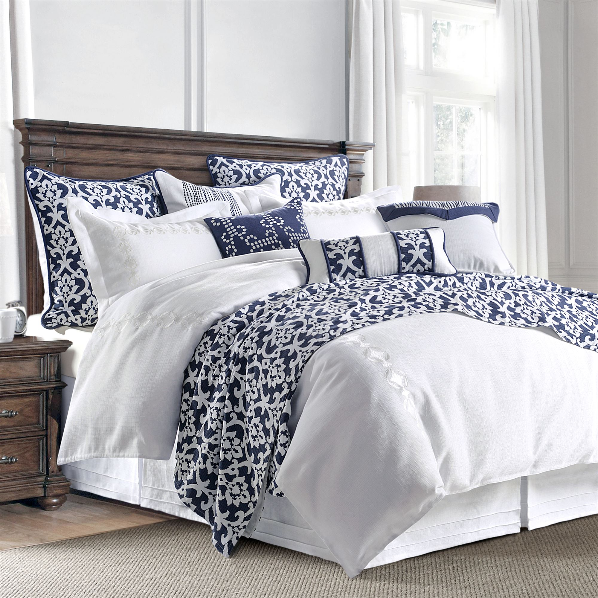 comforter sets bedroom of bedding size walmart twin and target white black full set