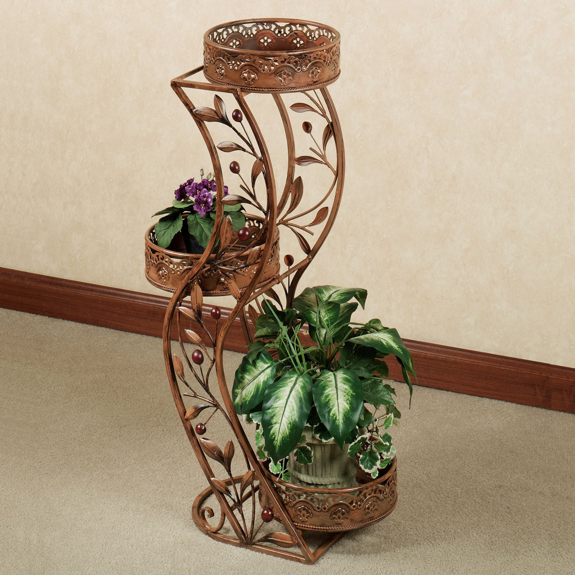 Flower Factory Home Decor Cantabria Branch Tiered Plant Stand