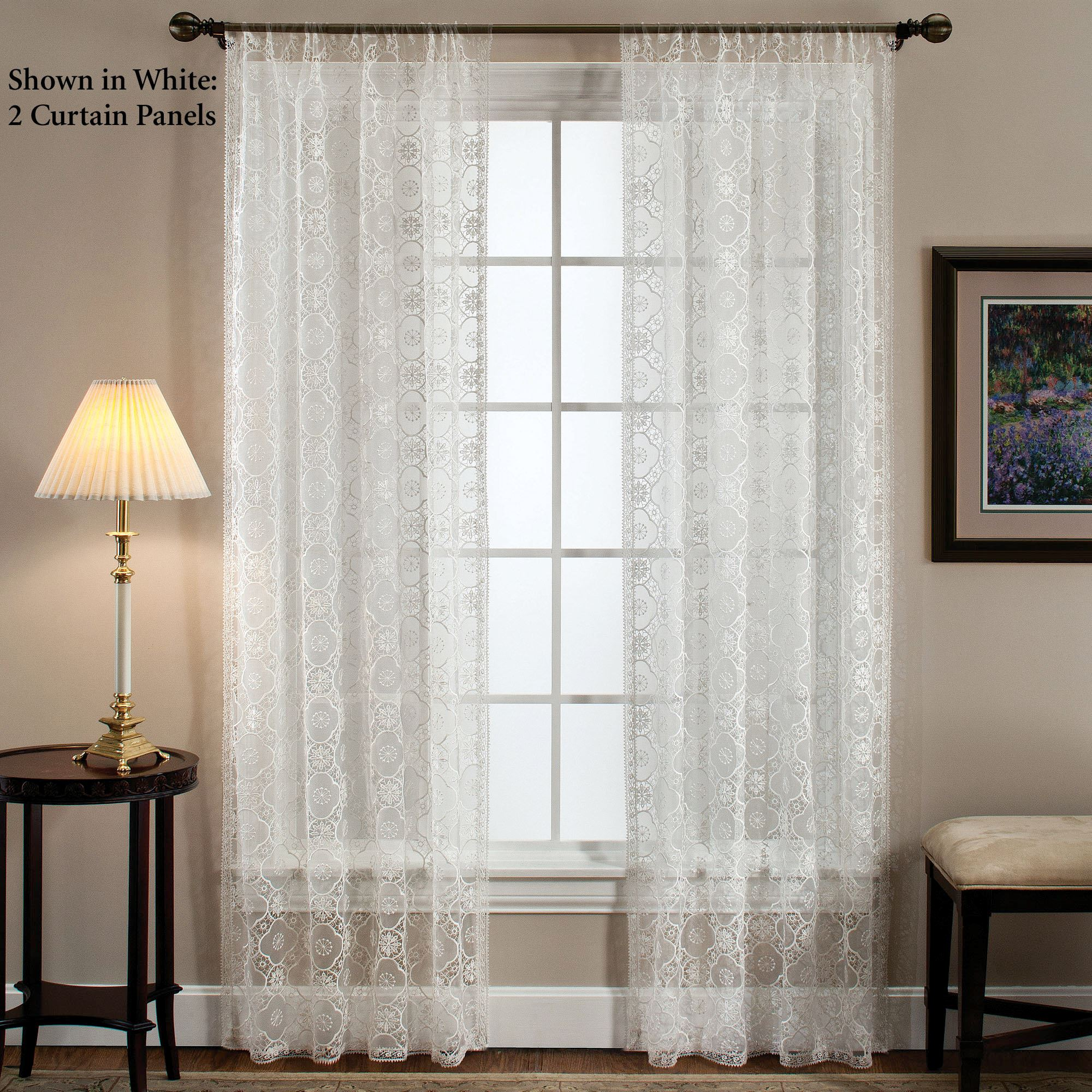 FREE SHIPPING Richmond Tailored Curtain Panel