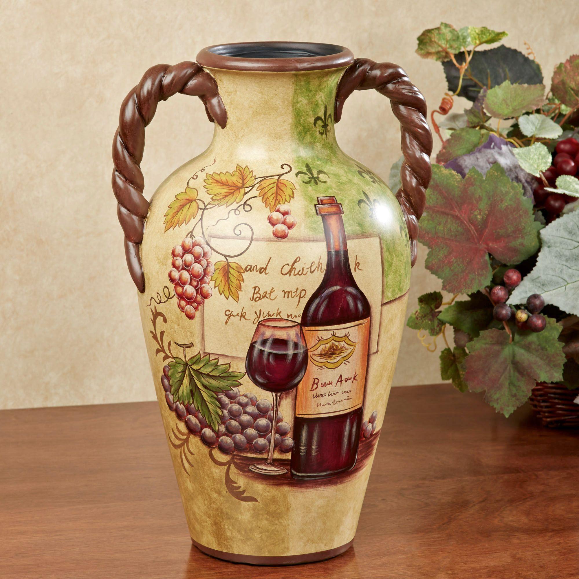 Table vases floor vases decorative jars touch of class vino decorative vase beige reviewsmspy