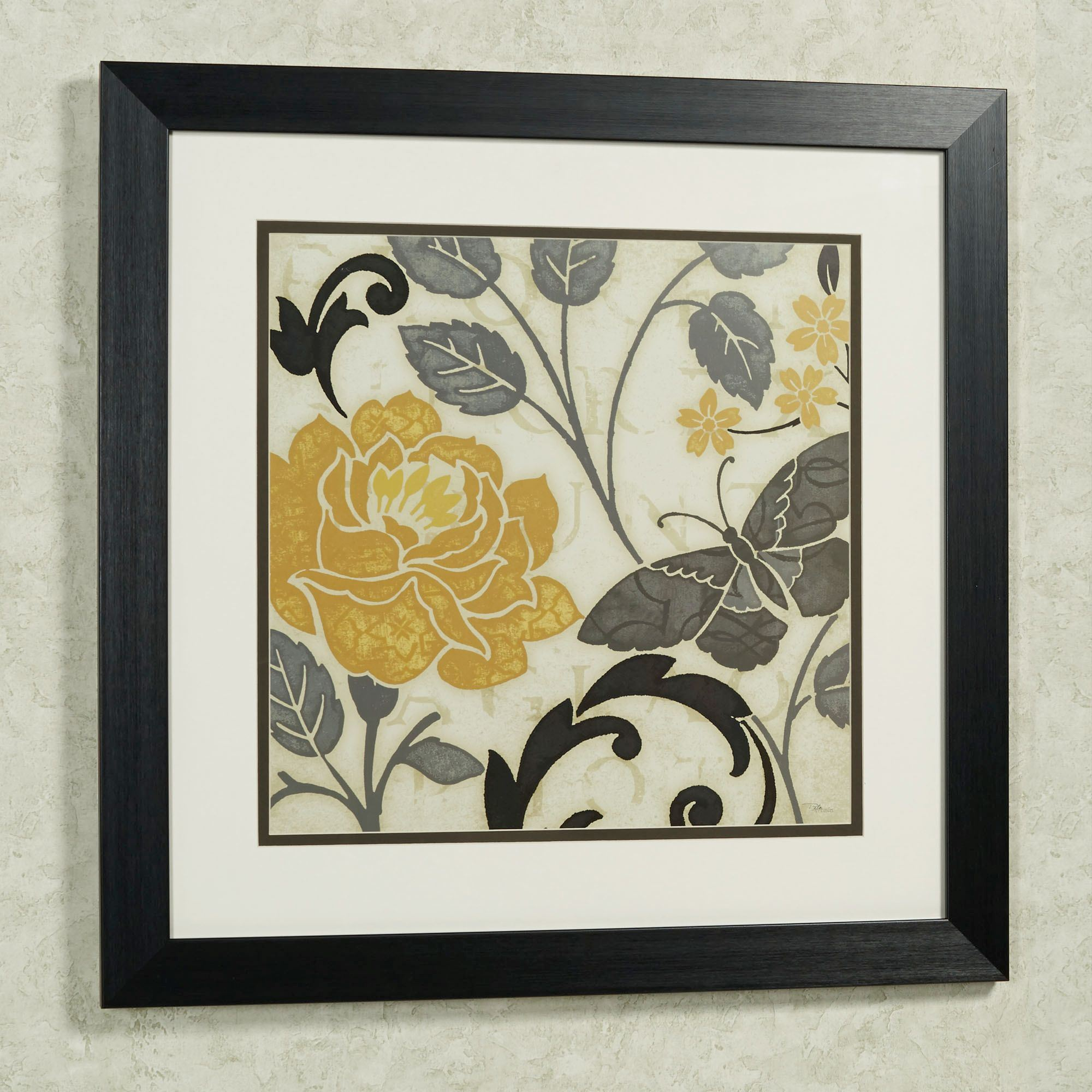 Perfect Petals Framed Floral Wall Art