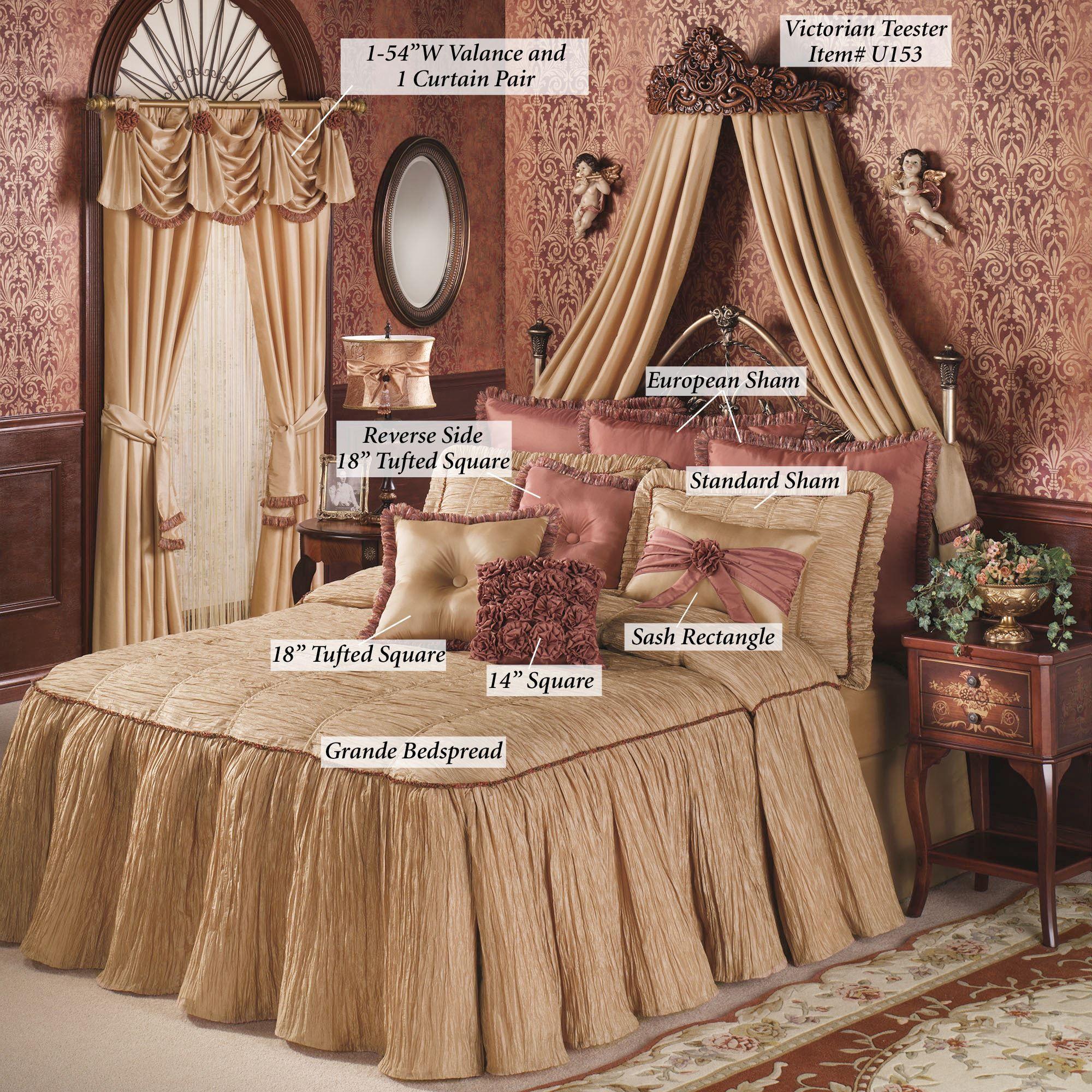 Victorian Bedspreads And Curtains Revolutionhr